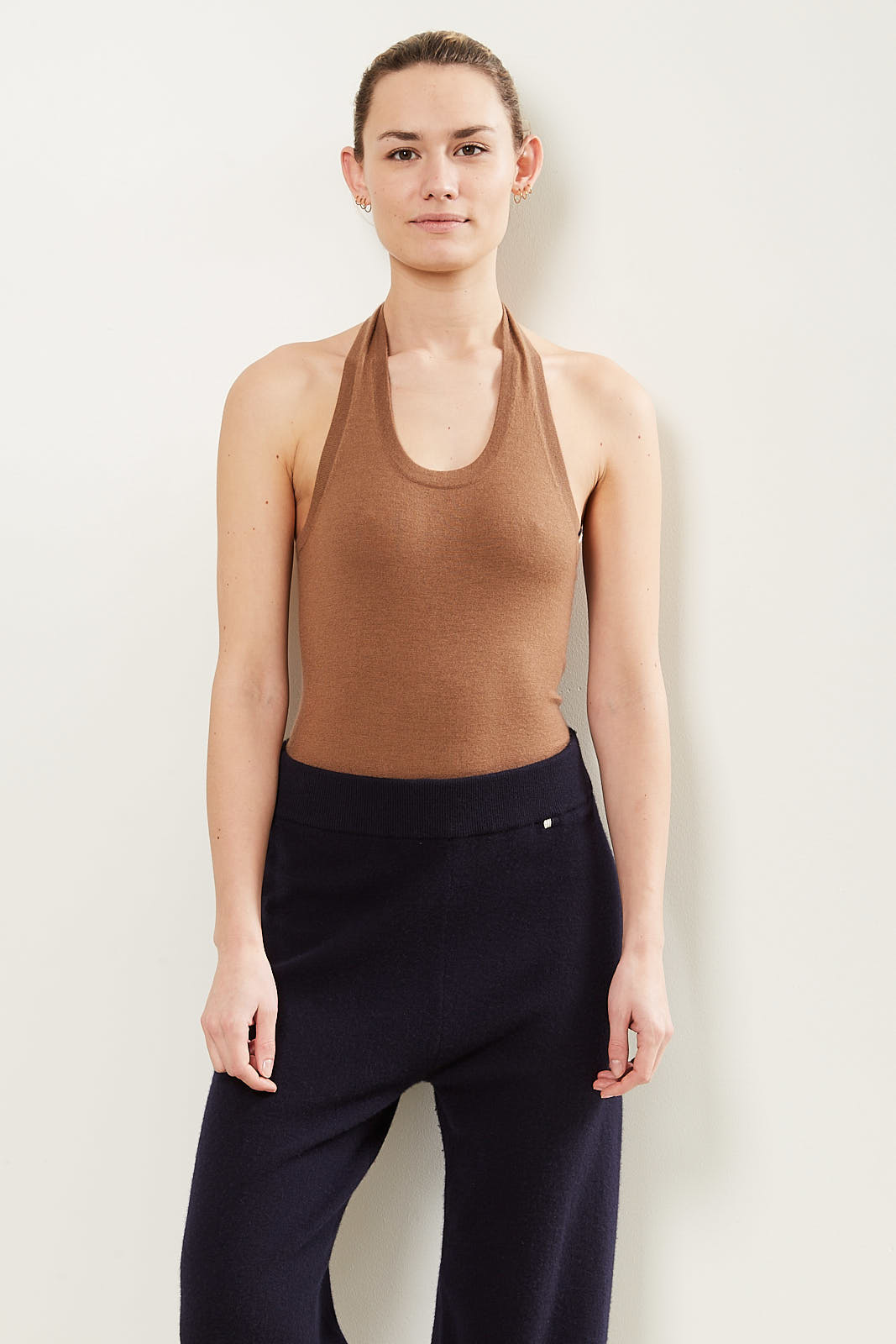 extreme cashmere swim cashmere all in one tan