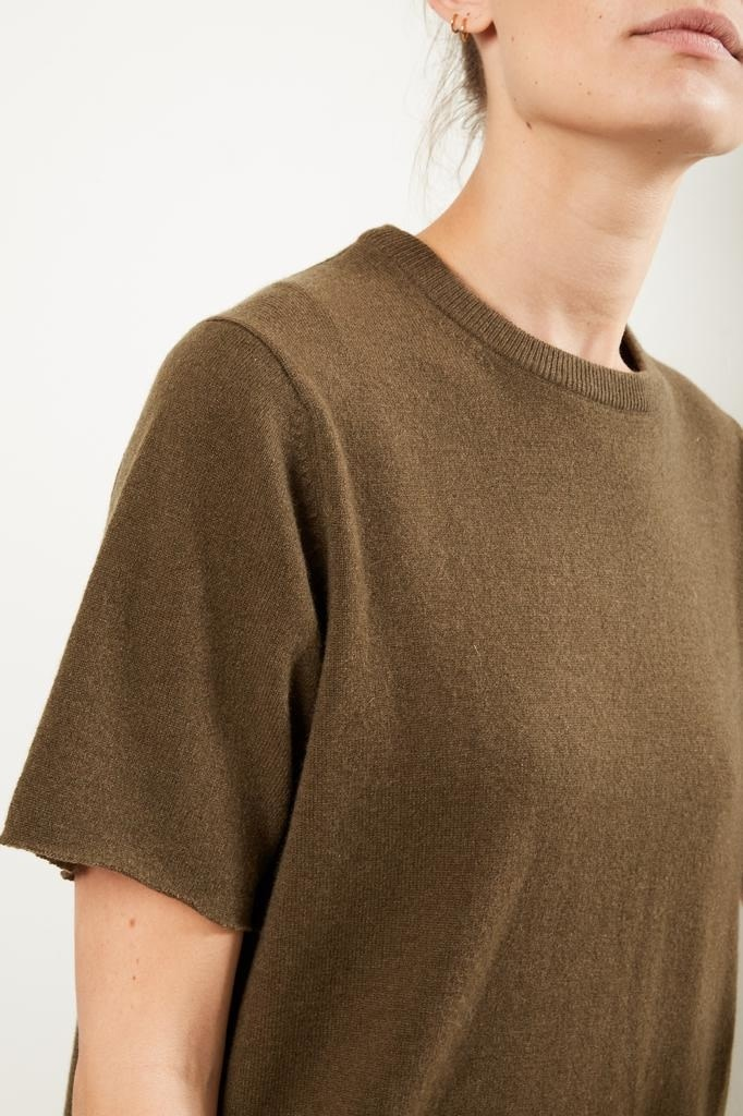 extreme cashmere - No64 classic unisex tshirt brown