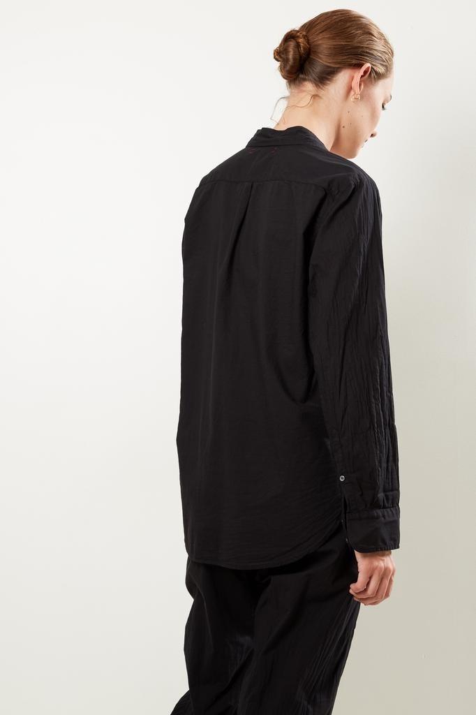 Xirena - Beau cotton poplin shirt black
