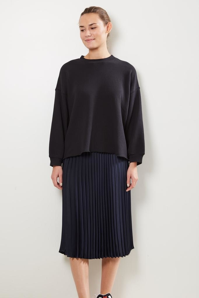 Xirena Sienna pleated skirt twilight blue