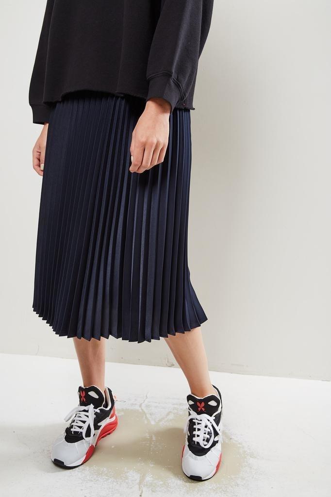 Xirena - Sienna pleated skirt twilight blue