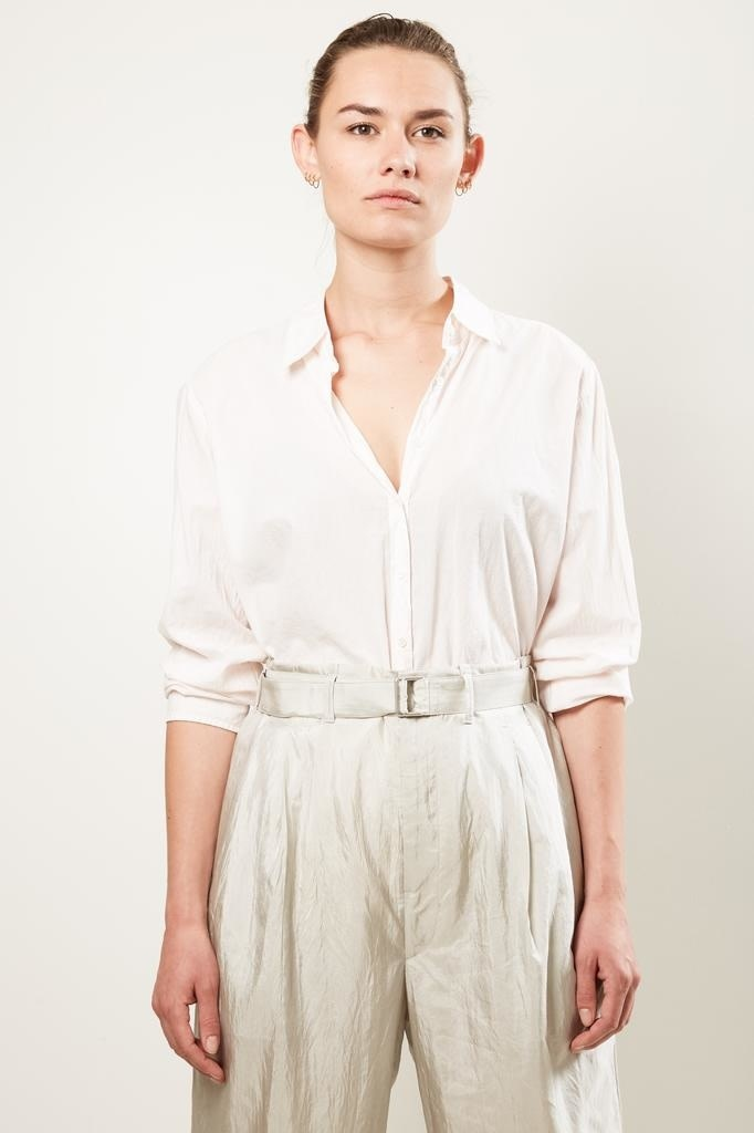 Xirena - Beau cotton poplin shirt pinkconch