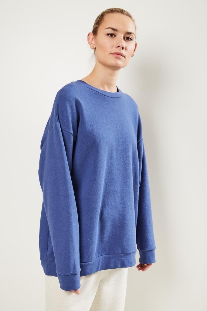Can Pep Rey Classic oversize sweater navy peony