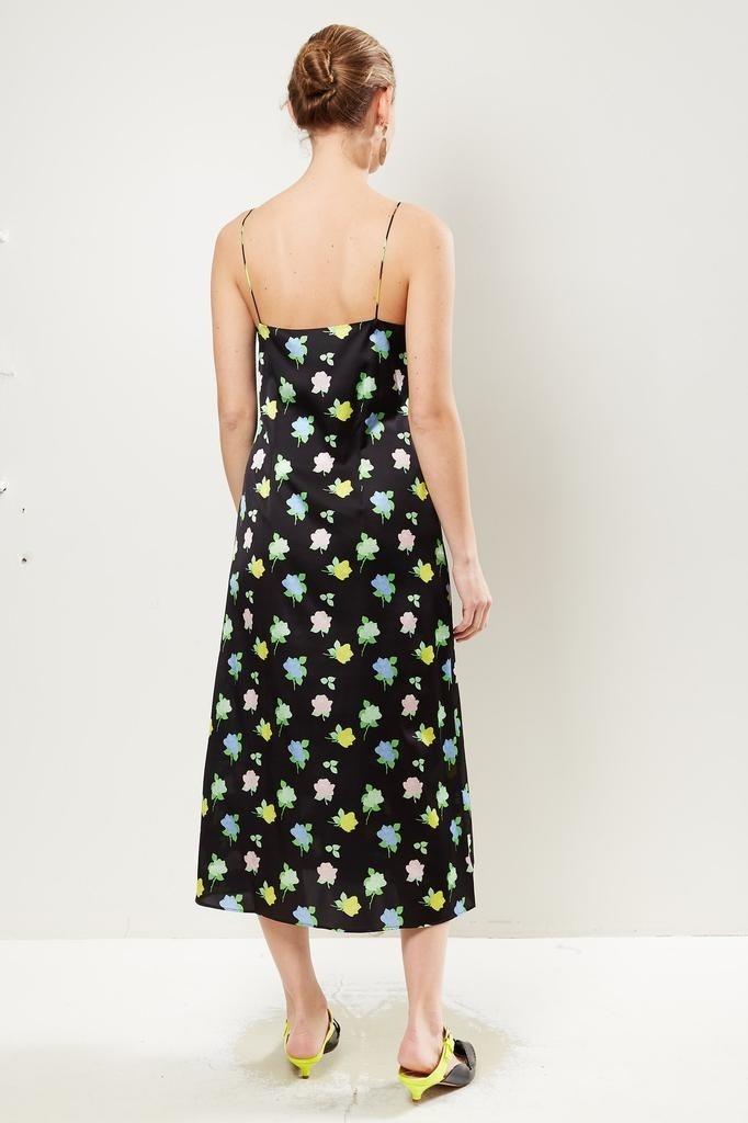 Bernadette - Hailey floral silk slip dress.