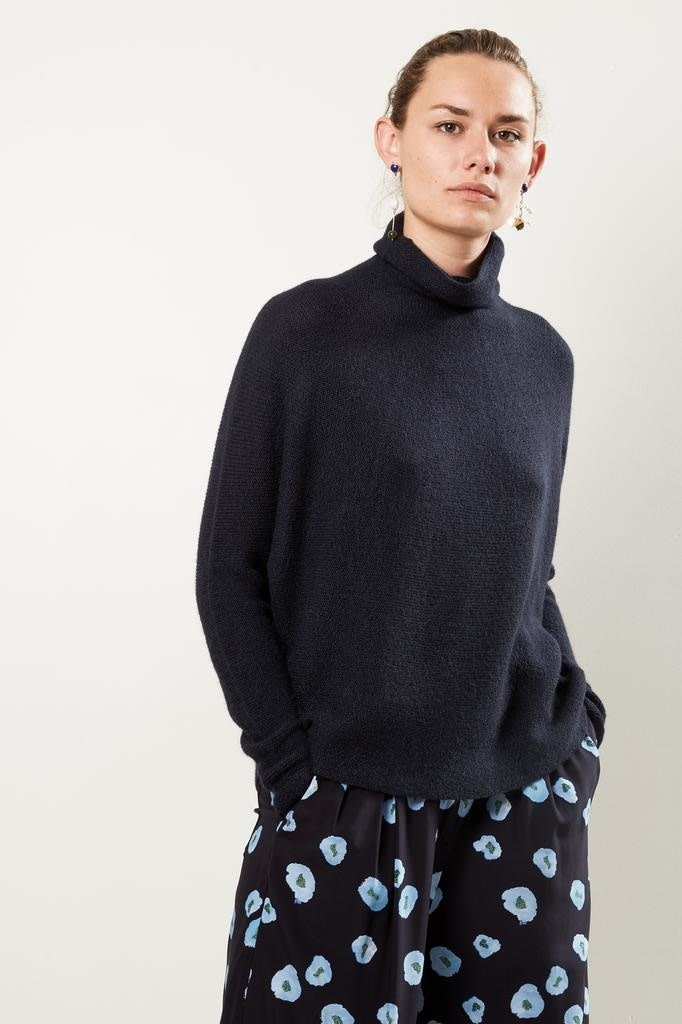 Christian Wijnants - Kaleza oversized roll neck sweater.