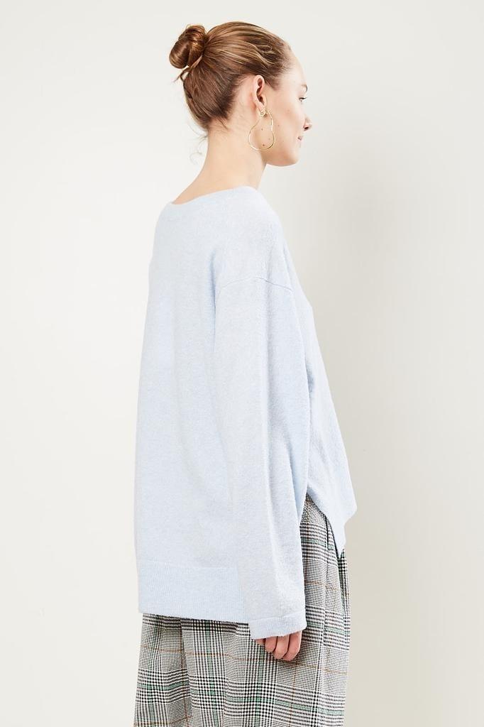 Christian Wijnants - Kate sweater light blue.