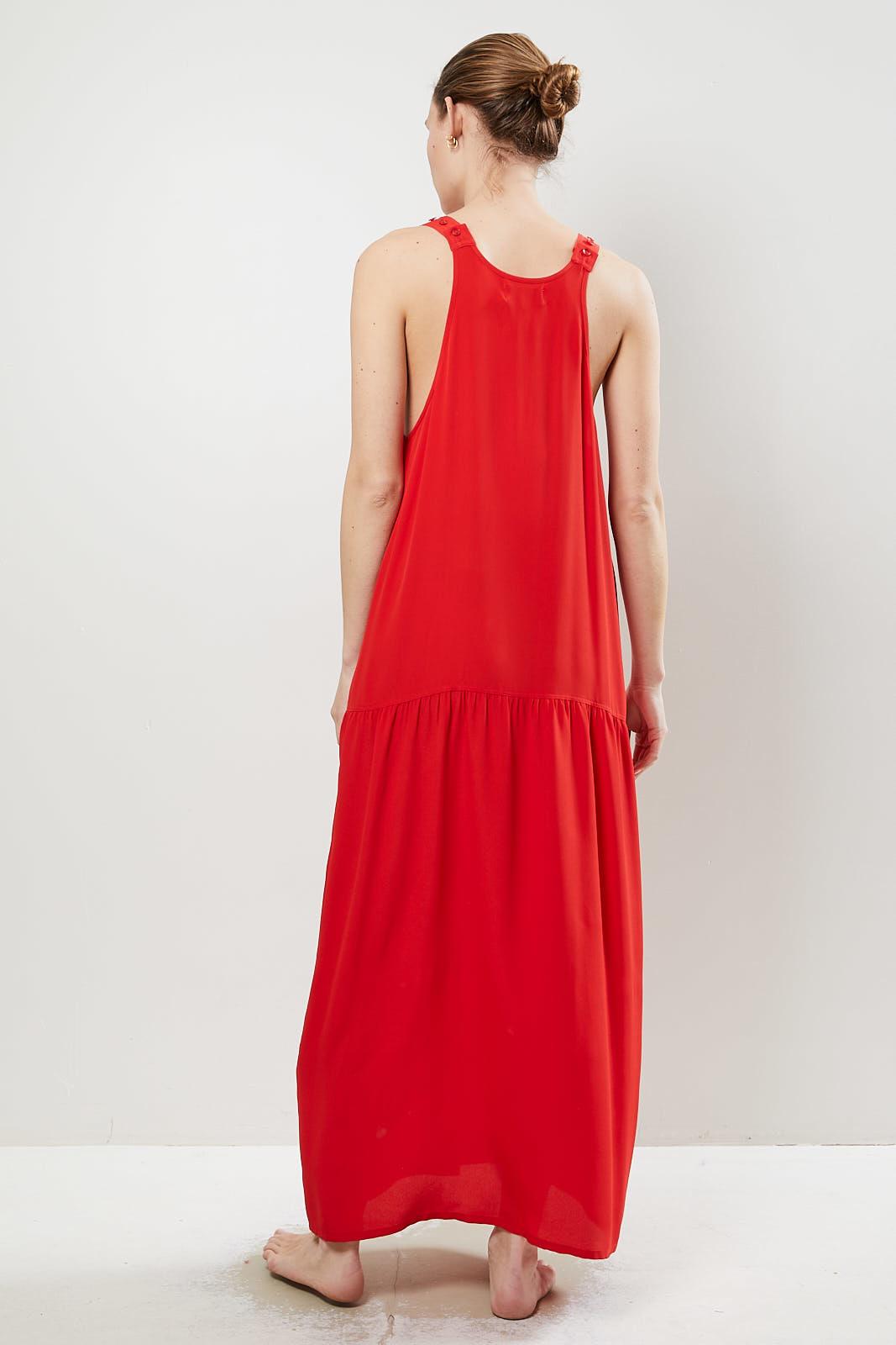 Monique van Heist daisy silk dress
