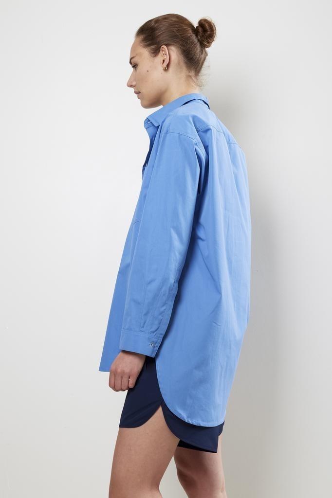 Monique van Heist - no5 blue cotton shirt