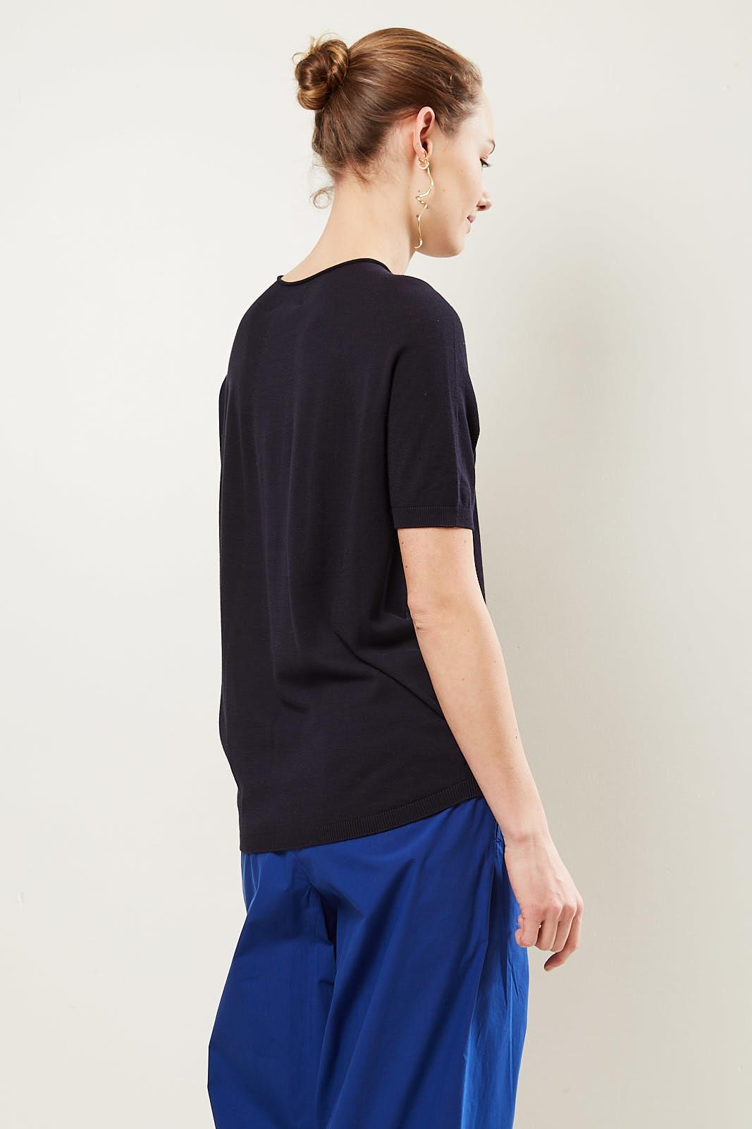 Christian Wijnants - Karem short sleeve knitted jumper.