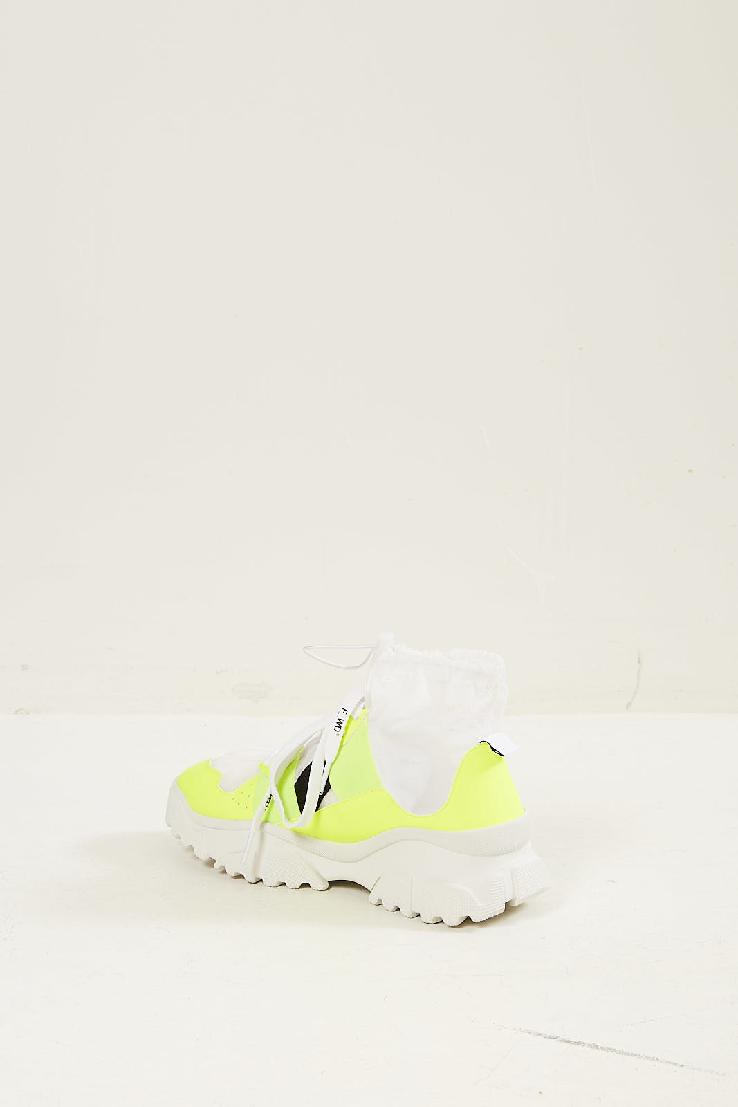 F_WD - Gommato transparant sneakers