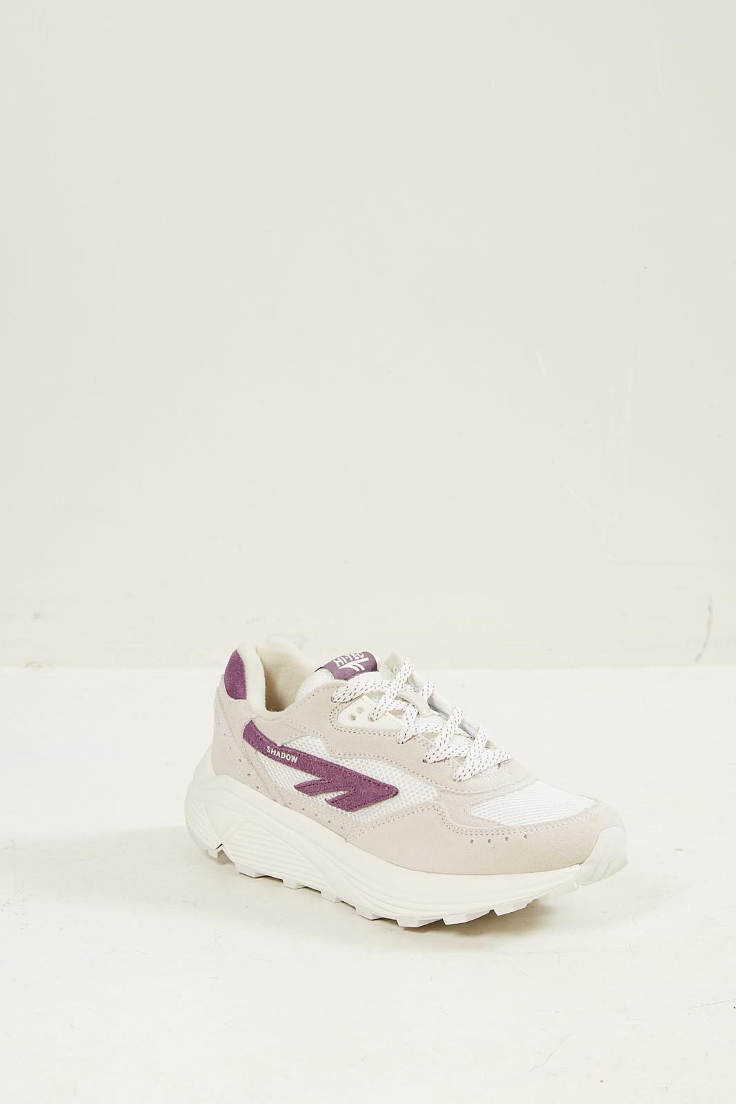 Hi-Tec Hts silver shadow sneakers 016 cotton purple dusk