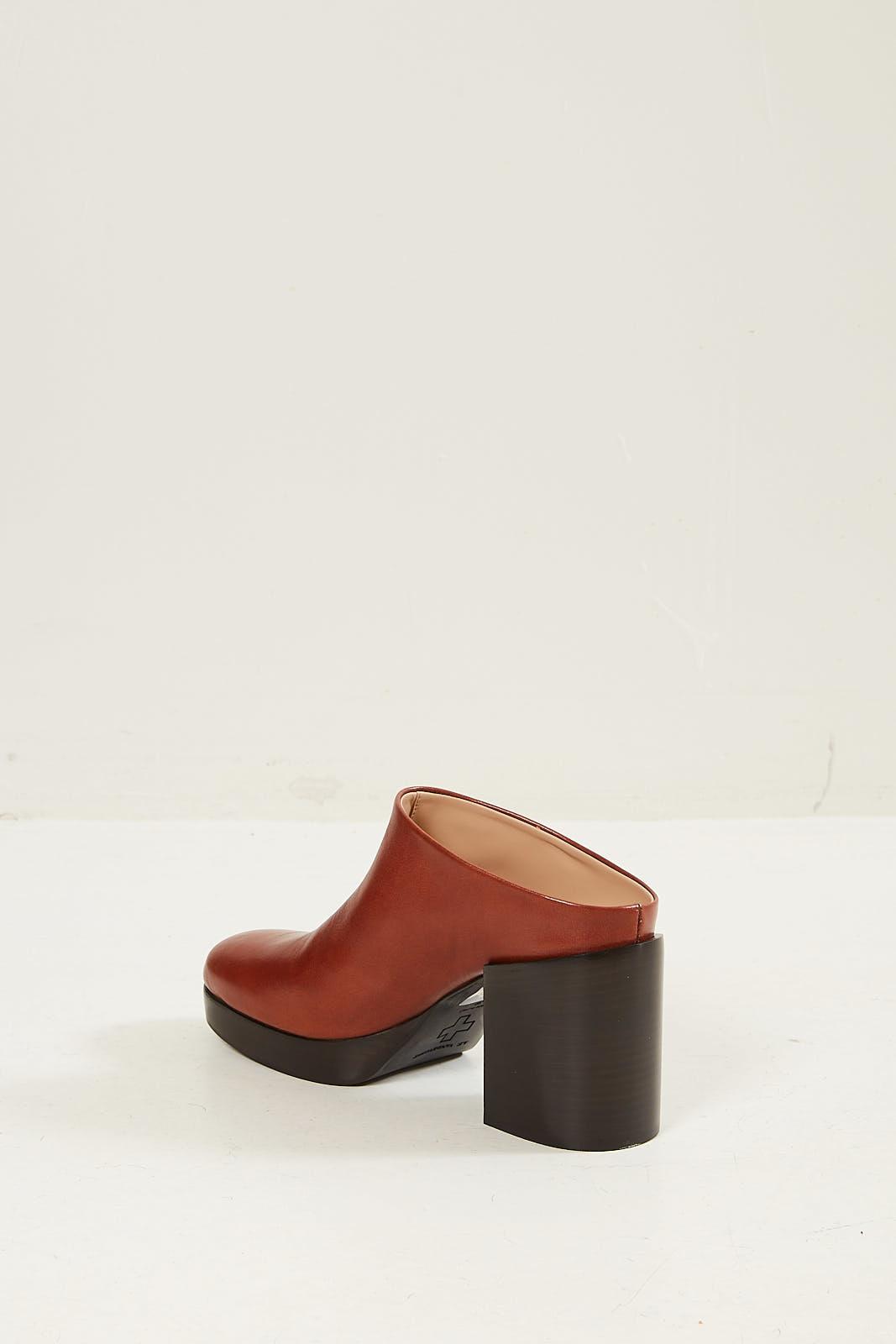 A.F. Vandevorst - Leather mule cognac
