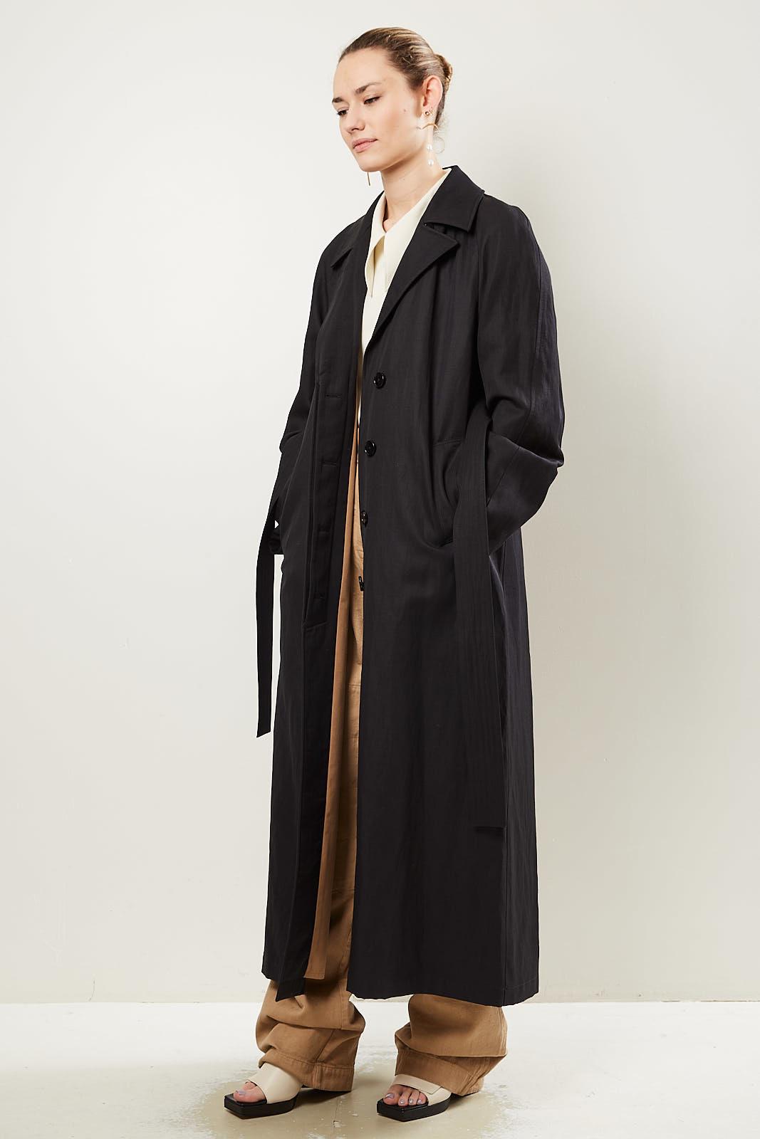 Lemaire - Oversized longline coat.