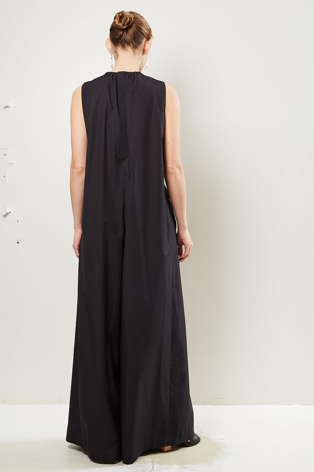 Christian Wijnants - Oman ruched detail jumpsuit.