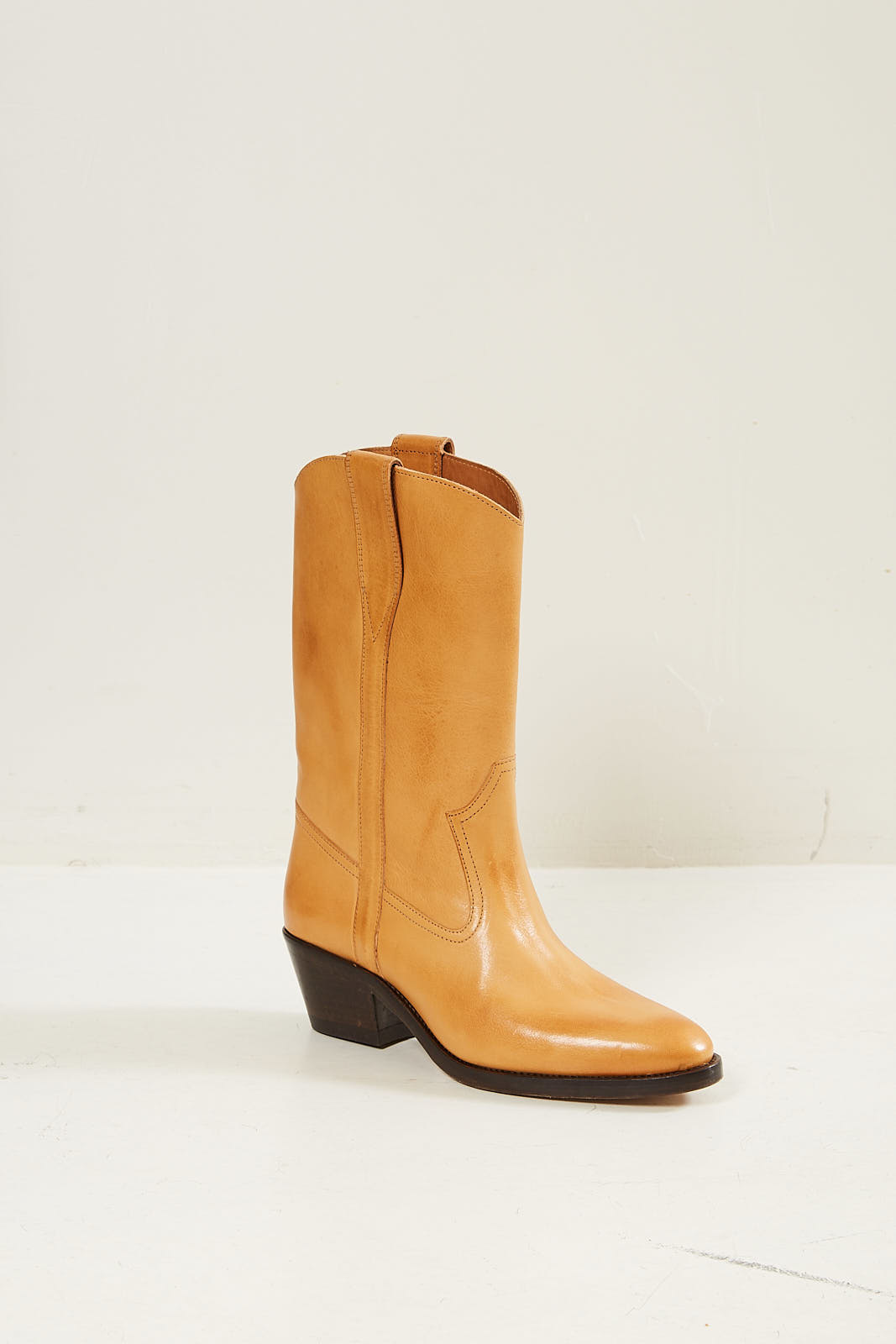 Etoile Isabel Marant Danta leather gaucho boots natural 23nl