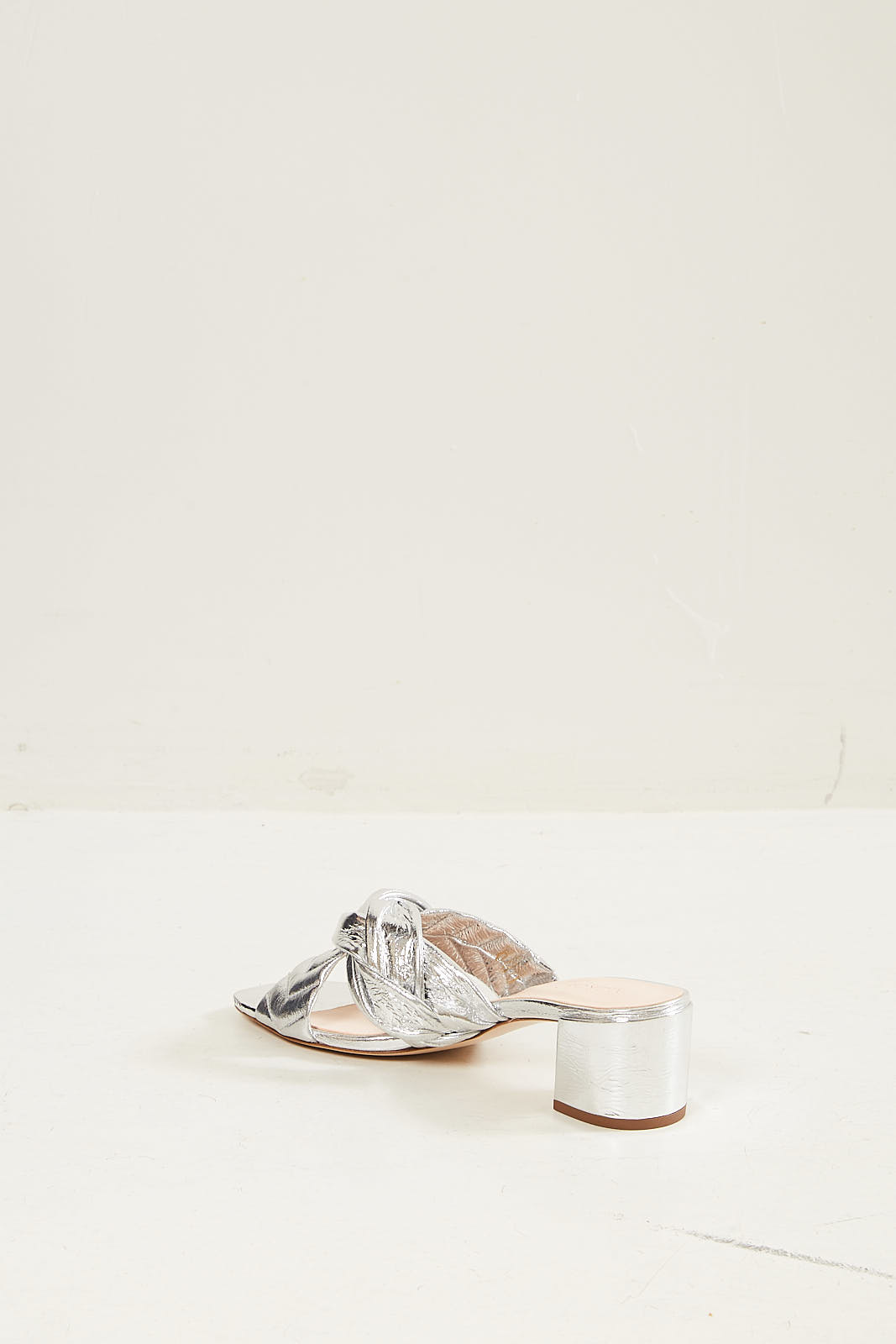 Morobé - Lauranne laminated leather sandal