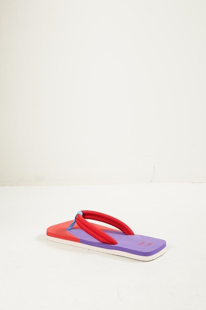 Yume Yume - Xigy japanese foam flip flops ultra violet fiery red