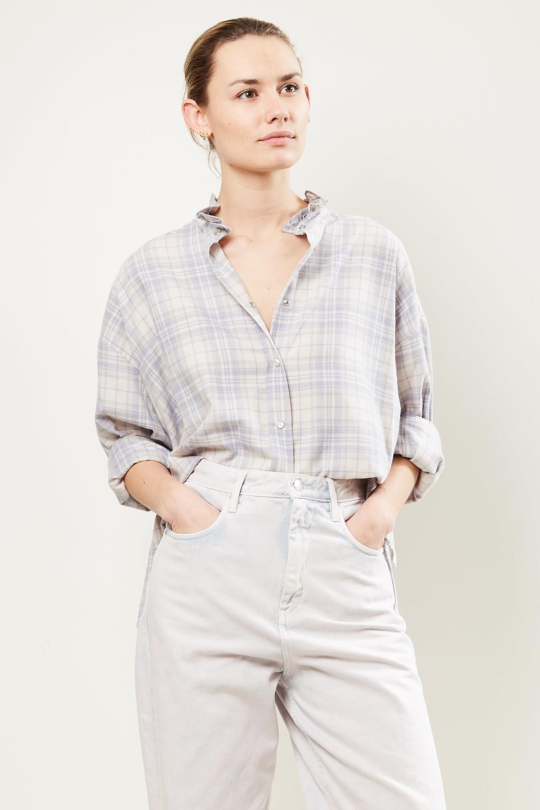 Etoile Isabel Marant - Ilaria check pilou shirt
