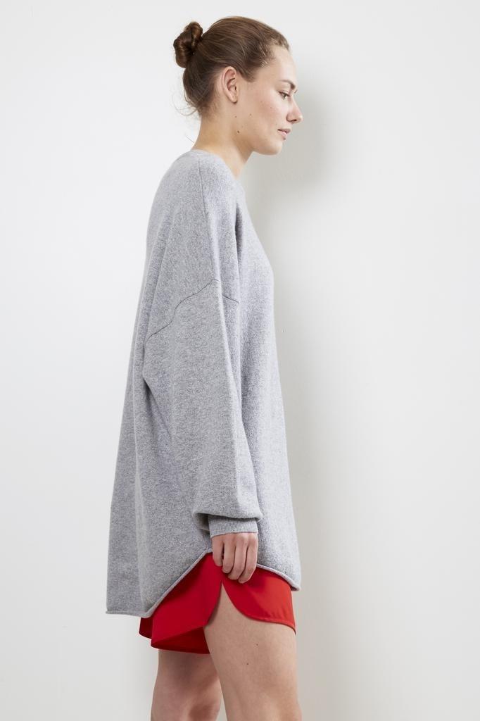 extreme cashmere - no53 crew hop grey