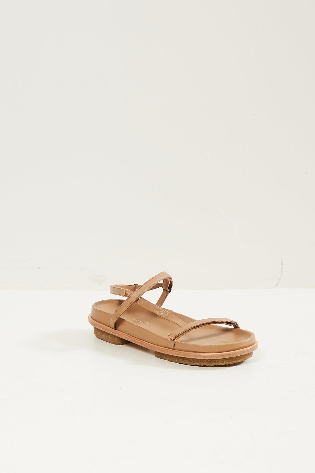 Mari Giudicelli Isabel sandal camel