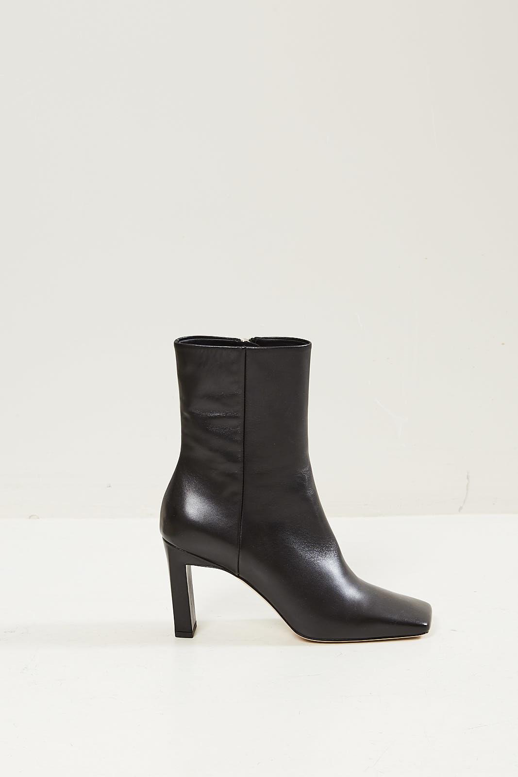 Wandler - Isa short leather boot black