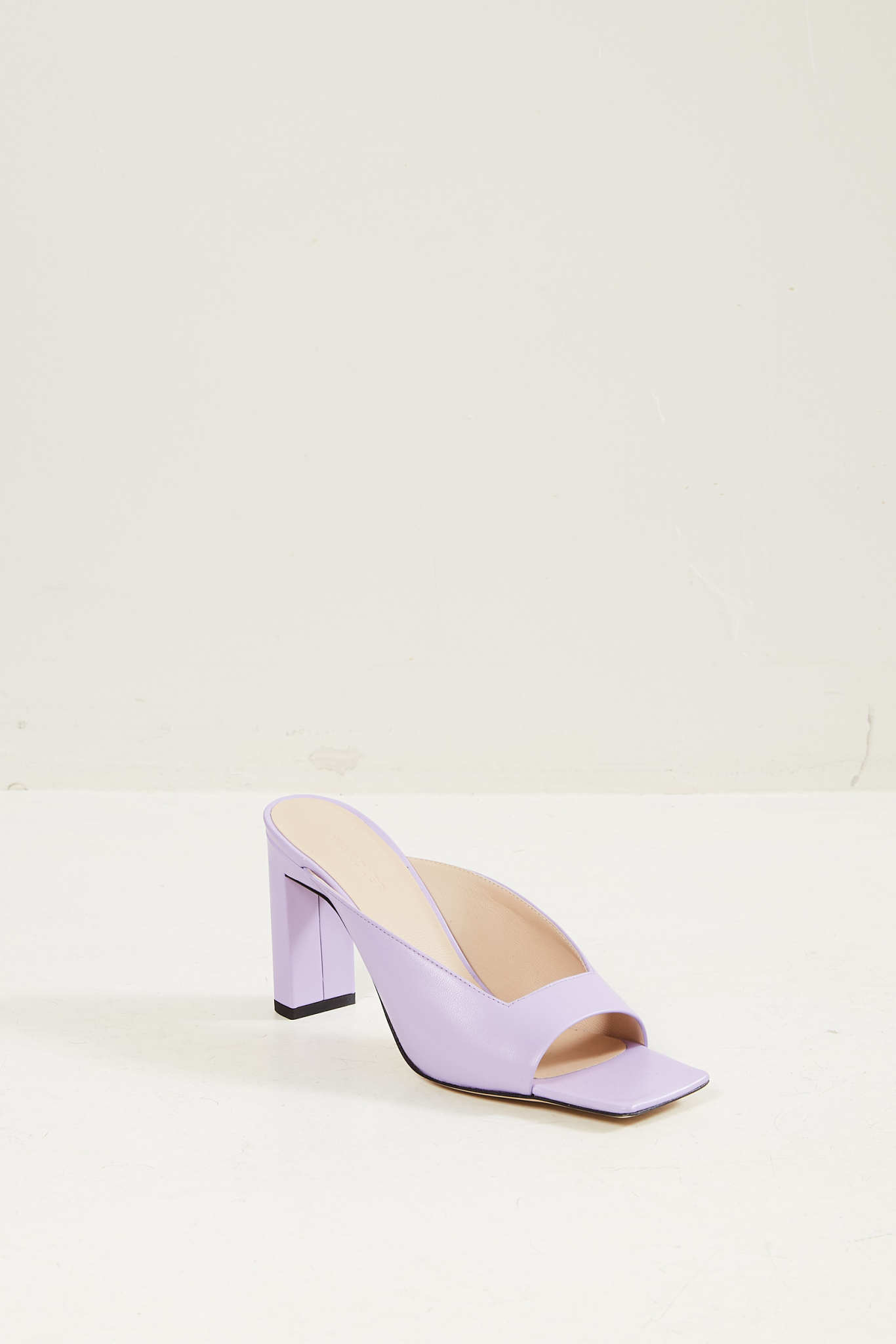 Wandler Isa lambskin leather sandal