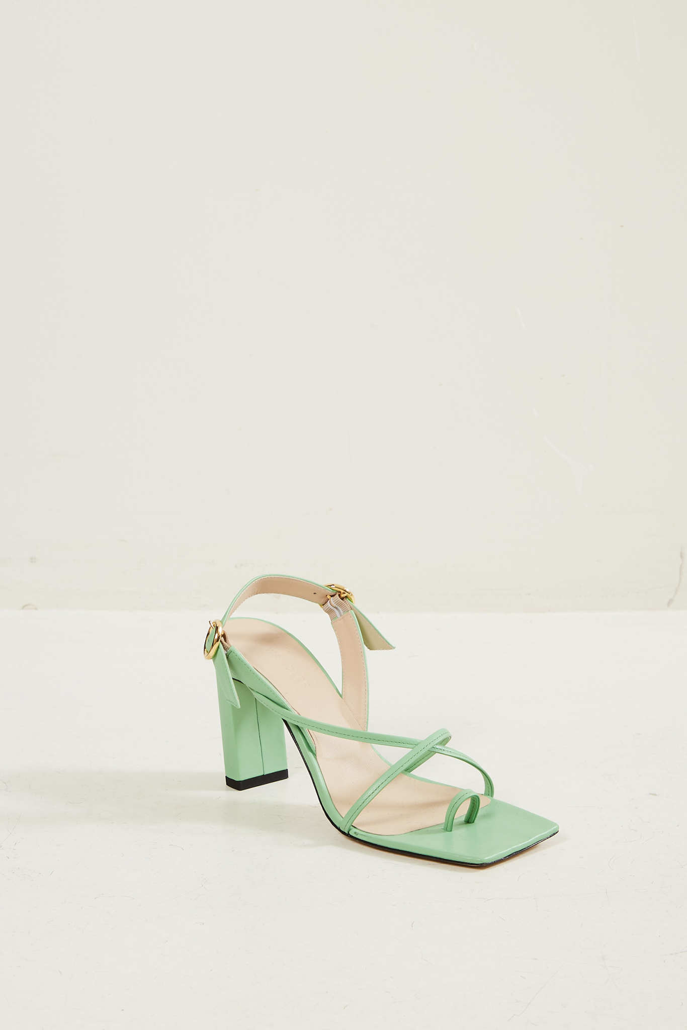 Wandler Elza lambskin leather sandal