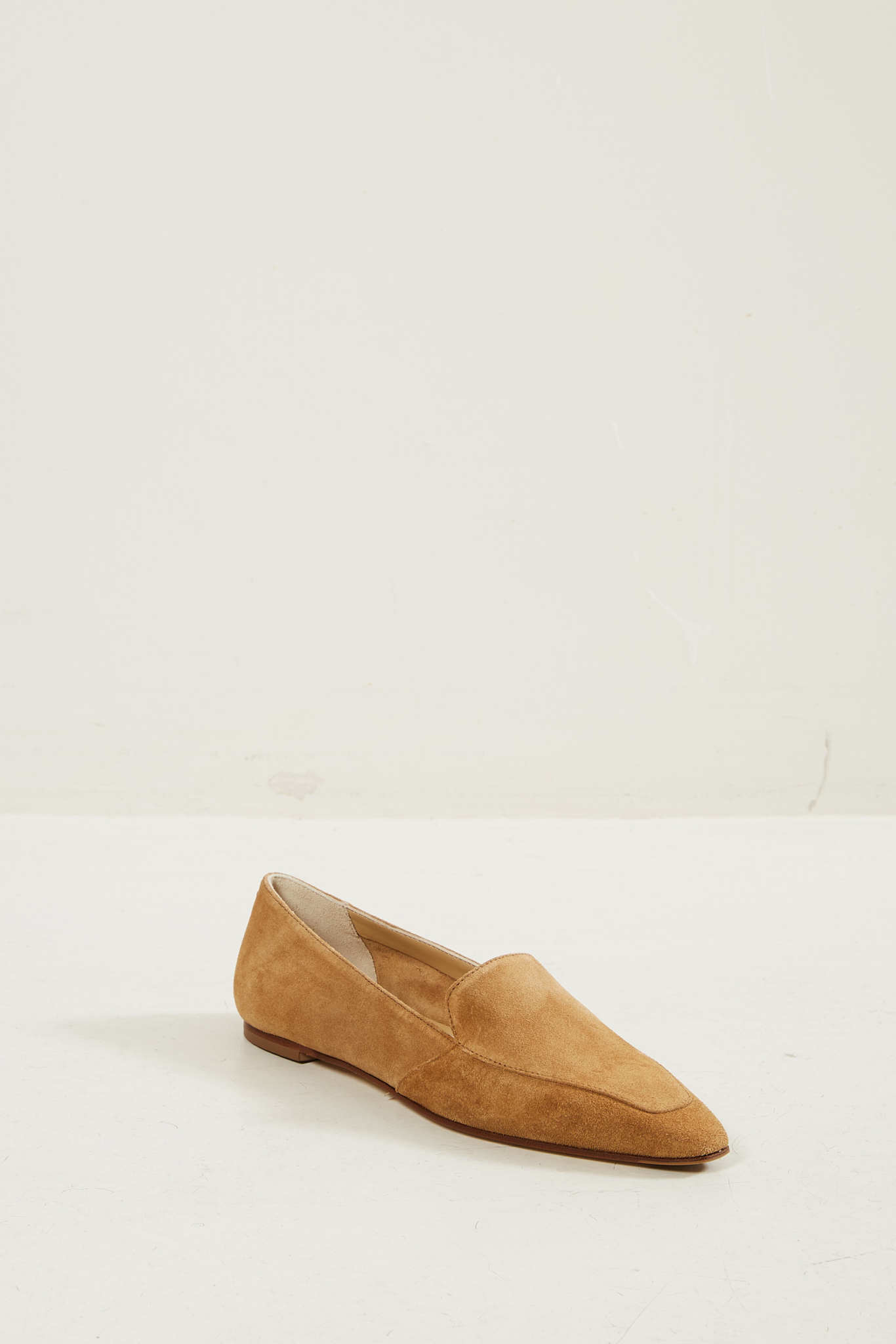 Aeyde Aurora suede leather fiesta loafers toscano