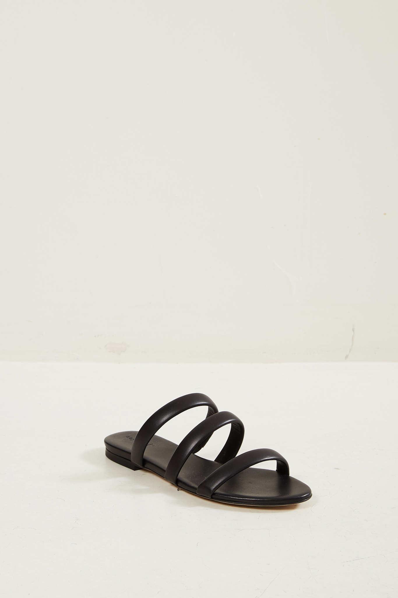 Aeyde Chrissy sandals Black.
