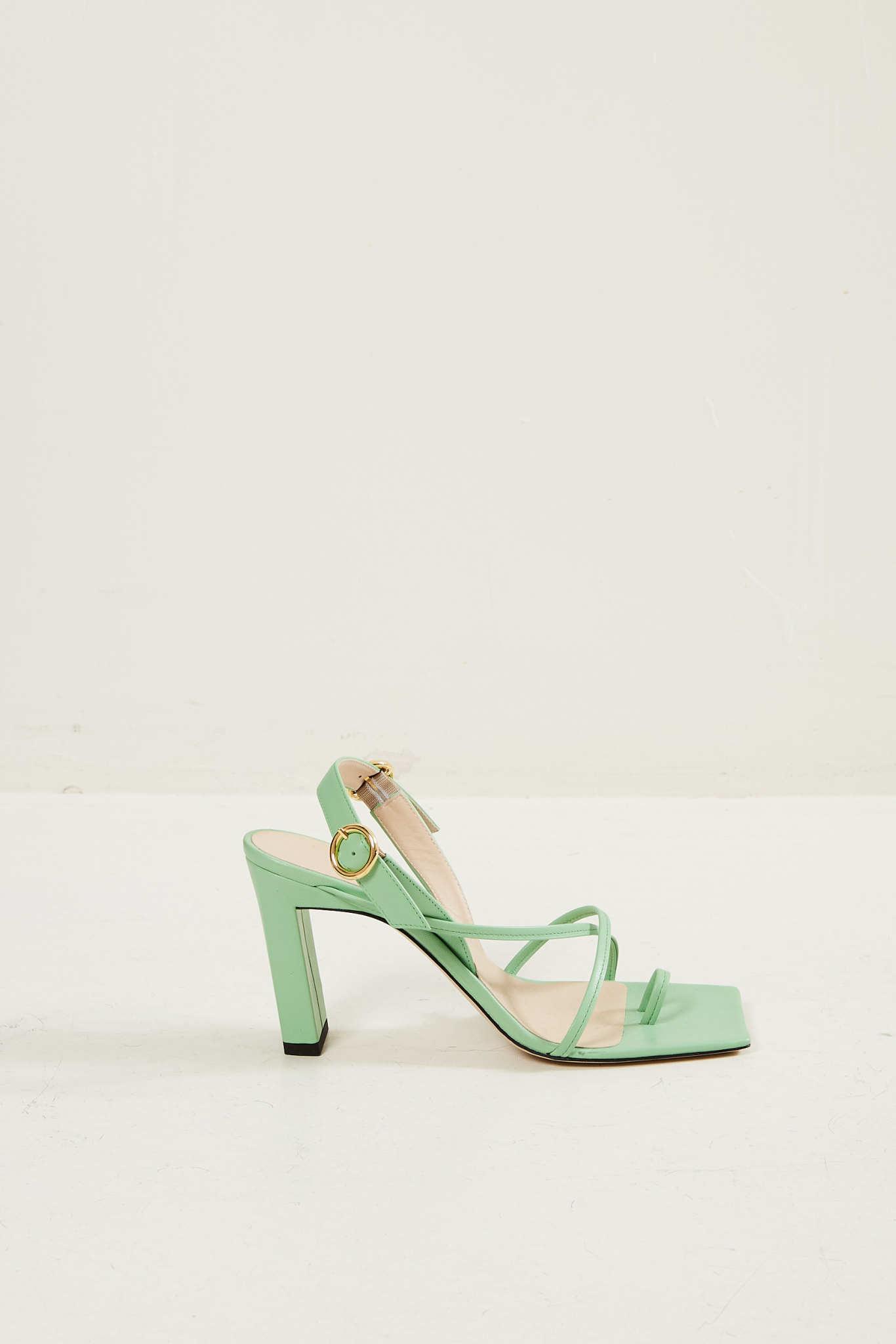 Wandler - Elza lambskin leather sandal