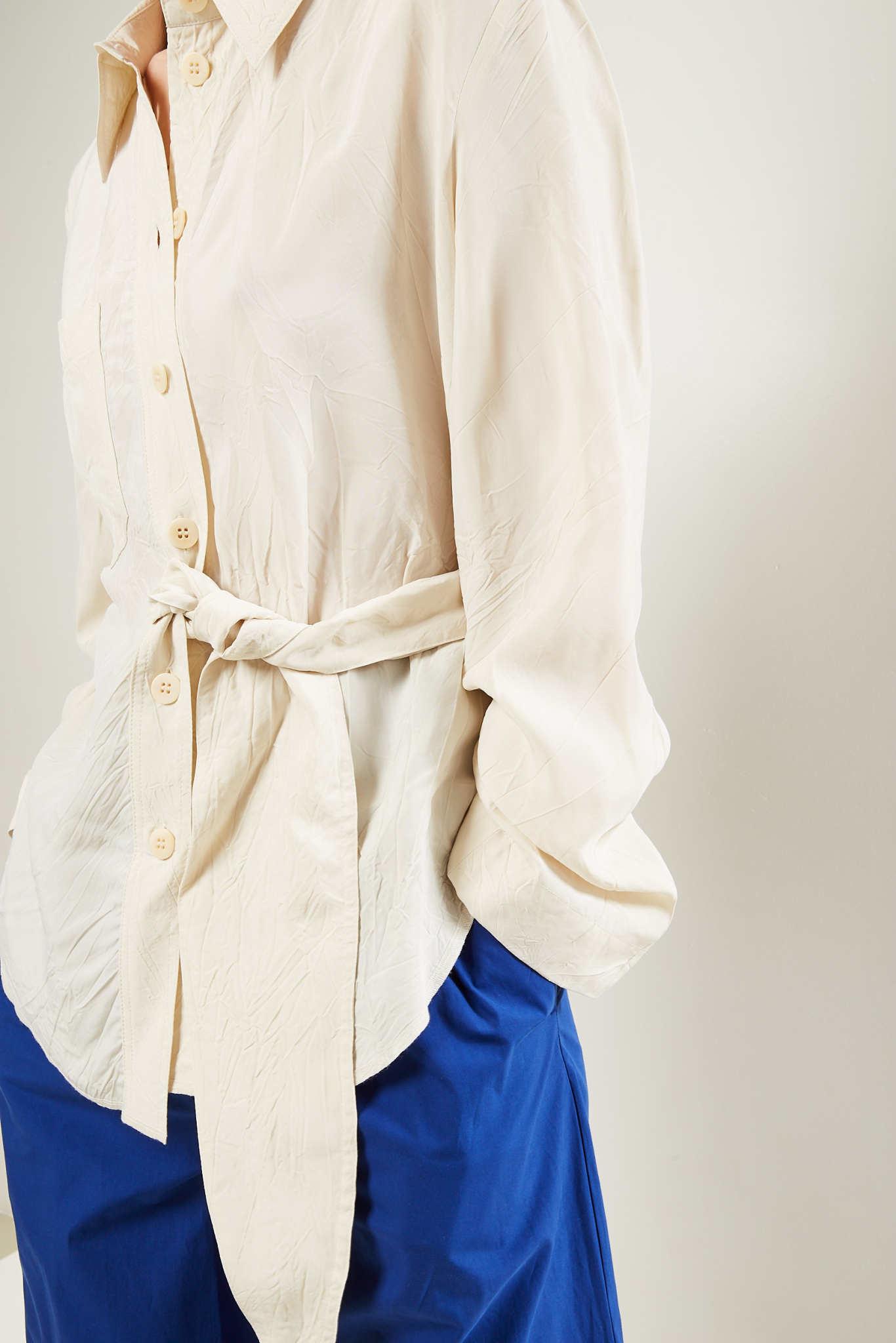 Nanushka - Mara wrinkled shirt