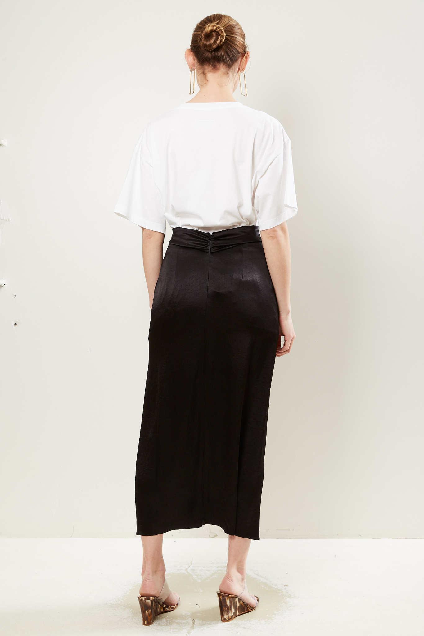 Nanushka - Samara washed satin skirt