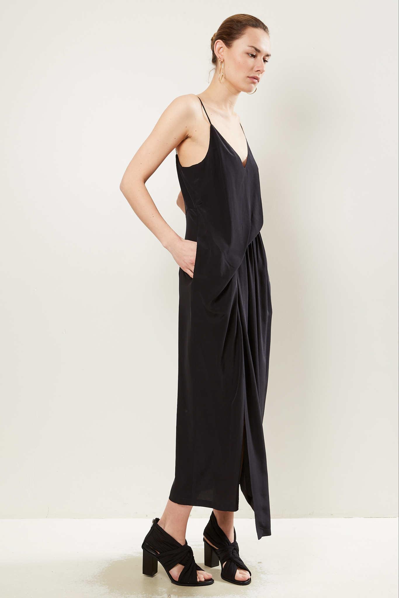 Christian Wijnants Dalia silk crepe de chine dress.