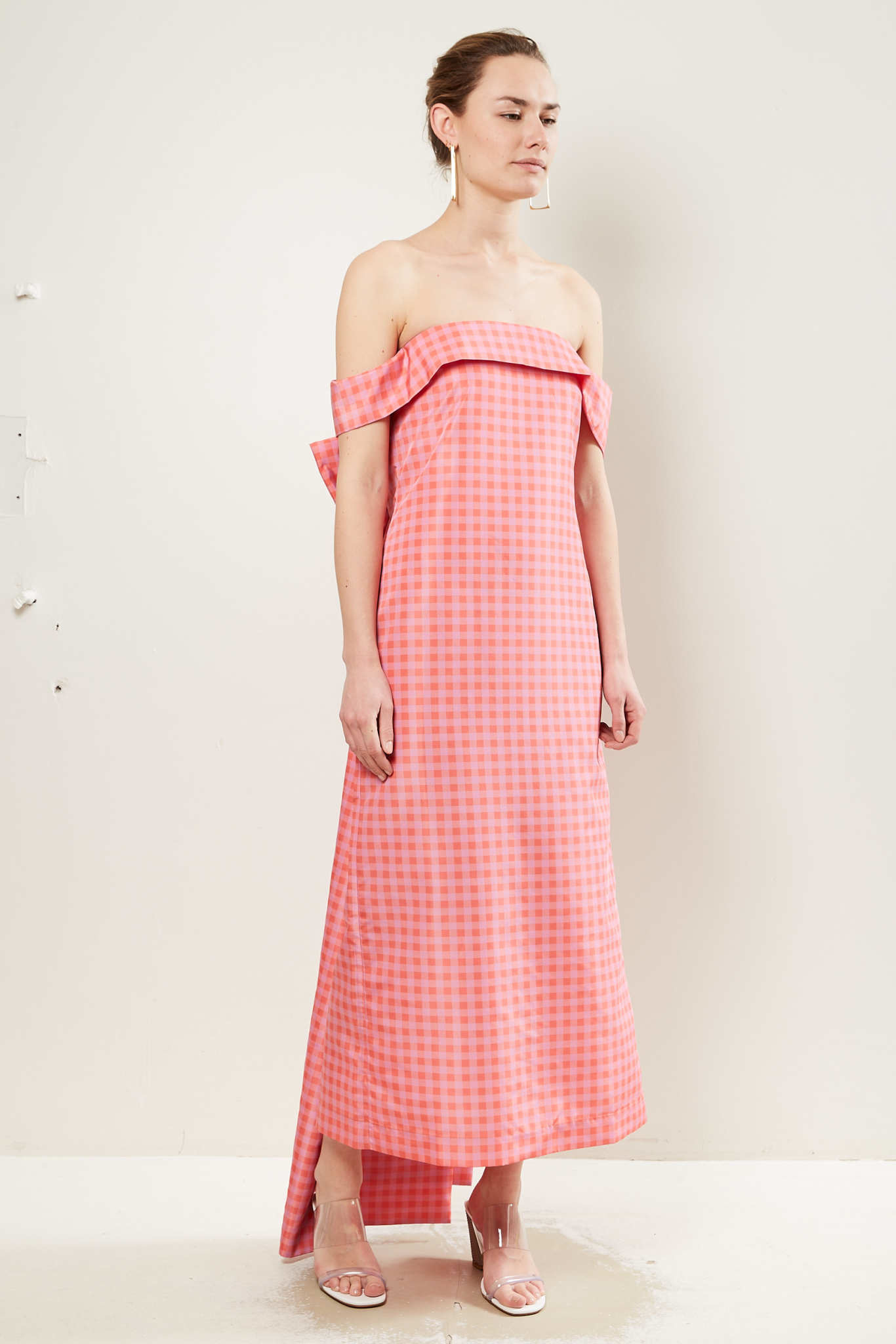 Bernadette - Julia taffeta dress.