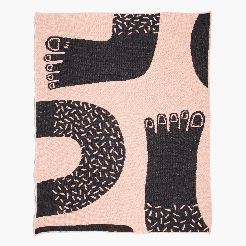 slowdown studio Footsie Mini Blanket