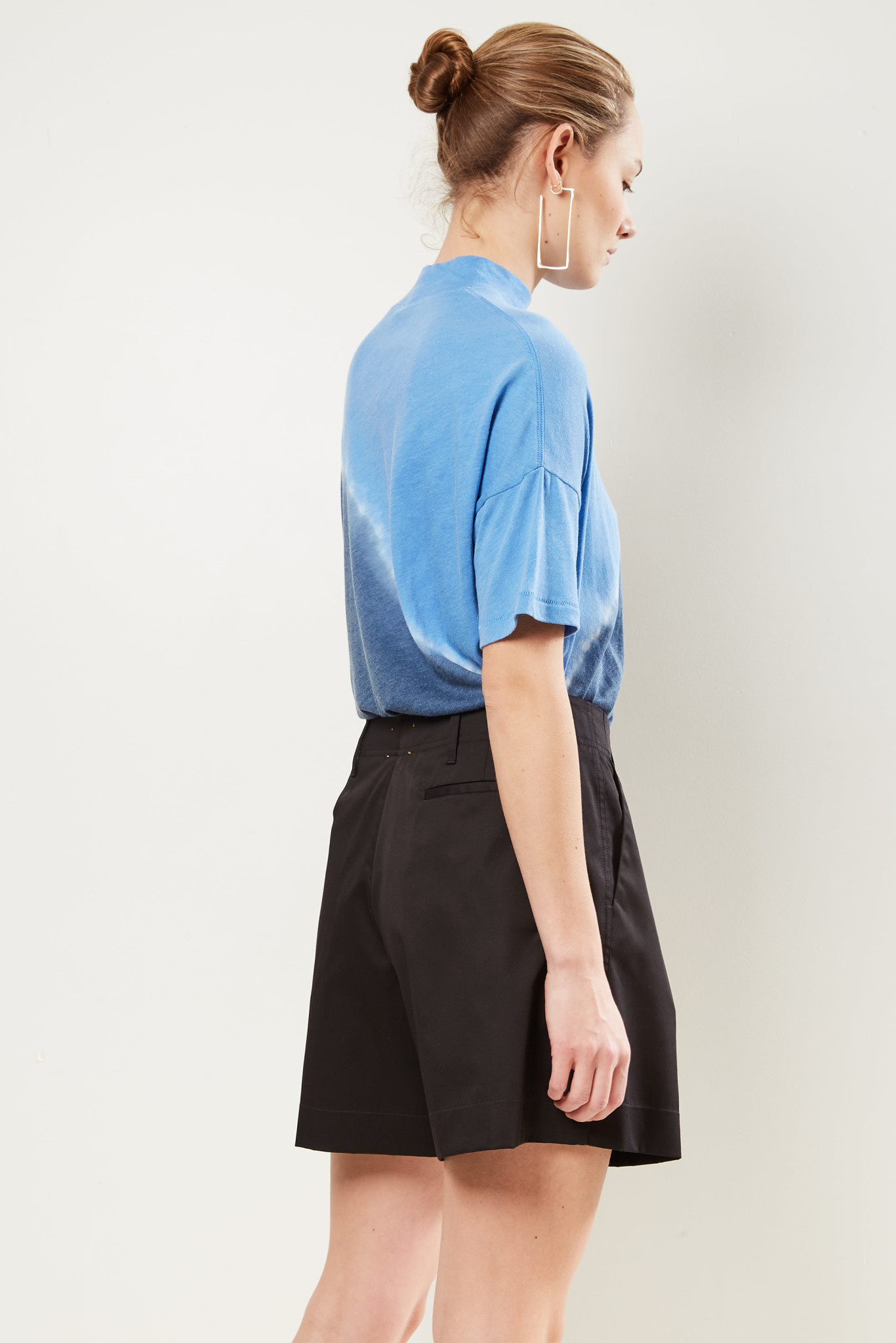 Forte Forte - High waisted tailored style shorts.