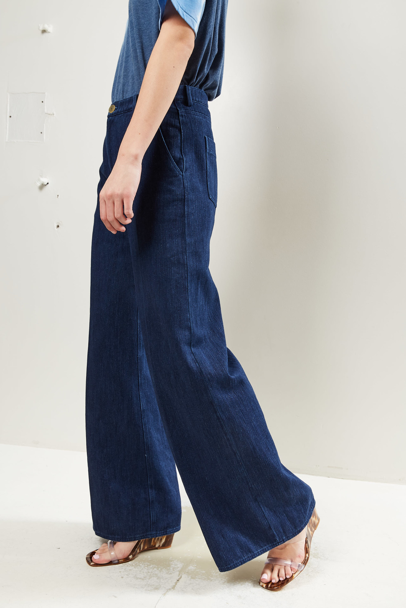Forte Forte - High rise wide leg jeans