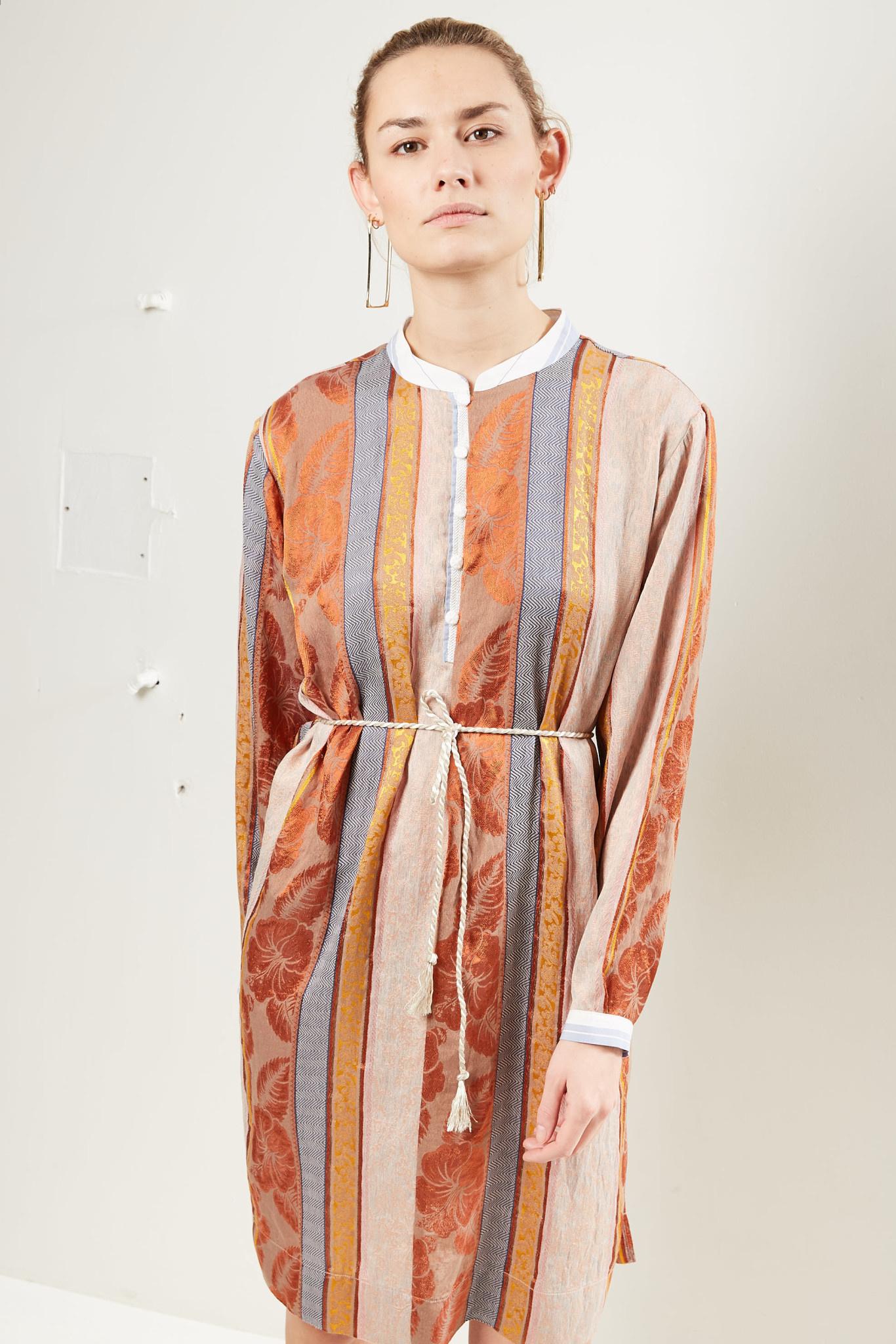 Forte Forte Patchwork long sleeve dress.