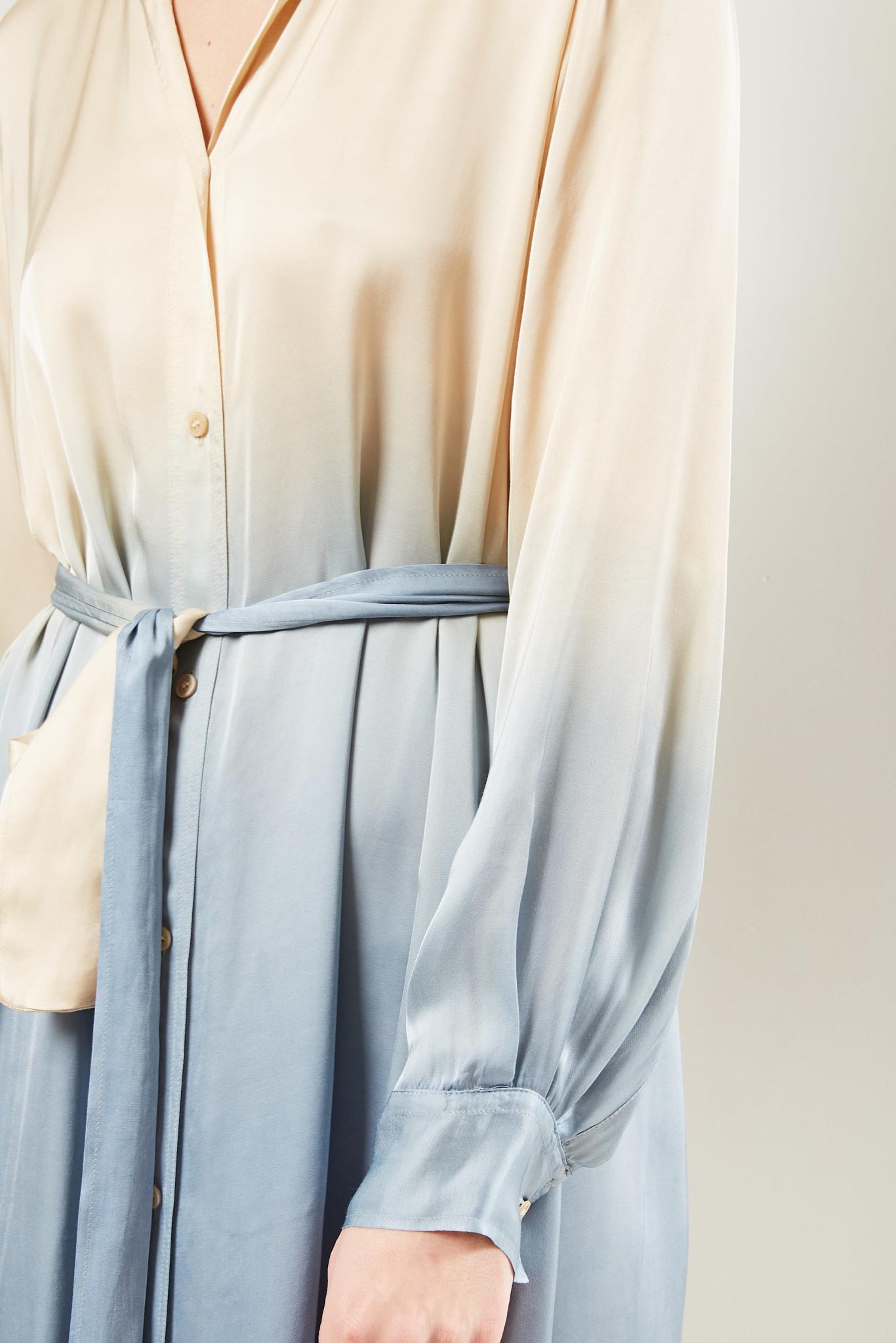 Forte Forte - Gradient print shirt dress.