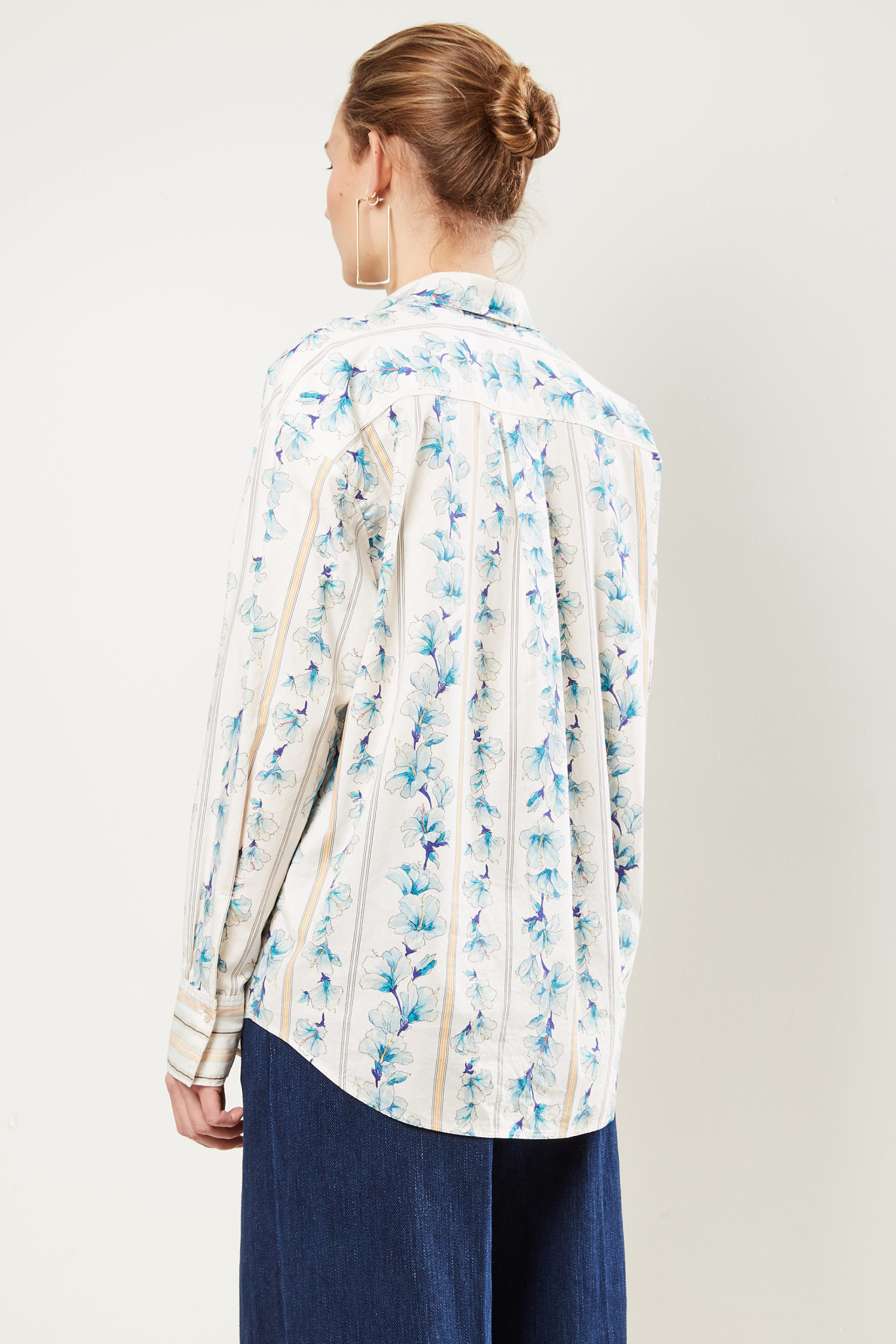 Forte Forte - Long sleeve Guadaloupe print shirt.