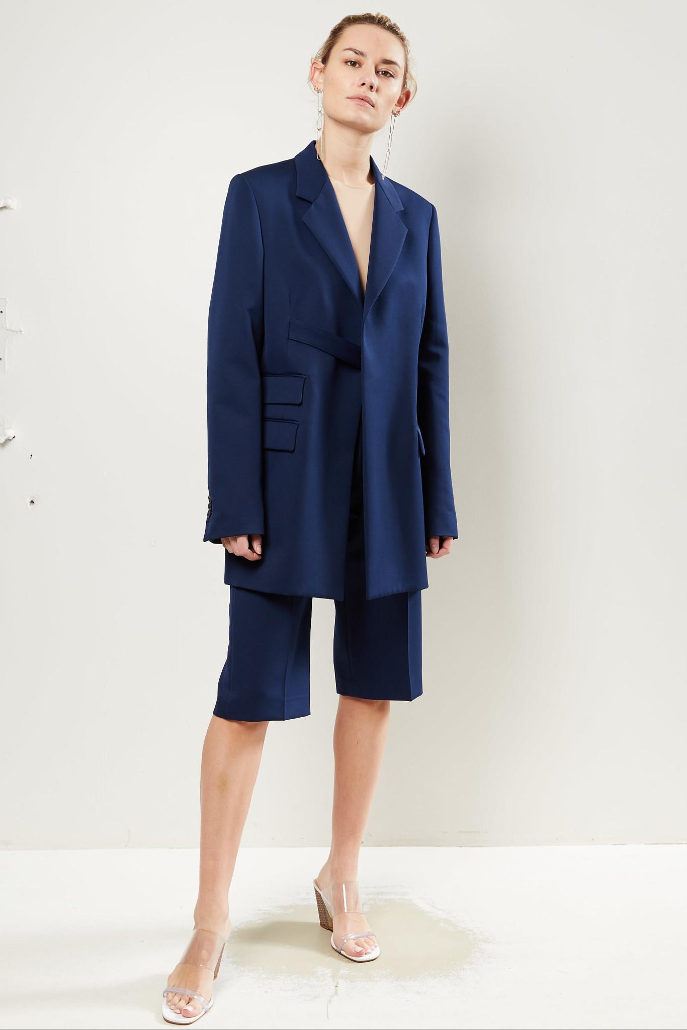 Maison Margiela - Strap tailored blazer.