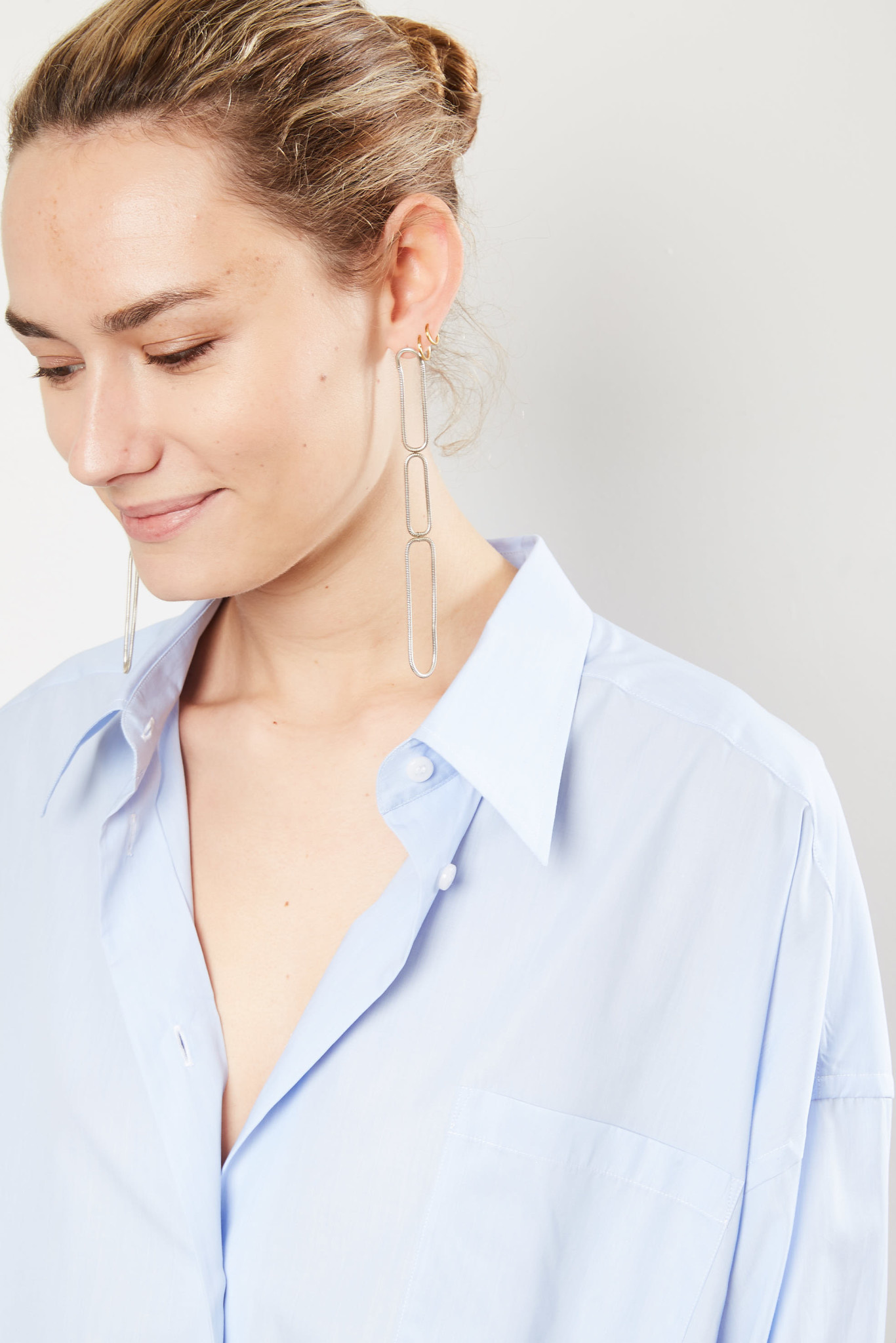 Maison Margiela - Asymmetric longline shirt.