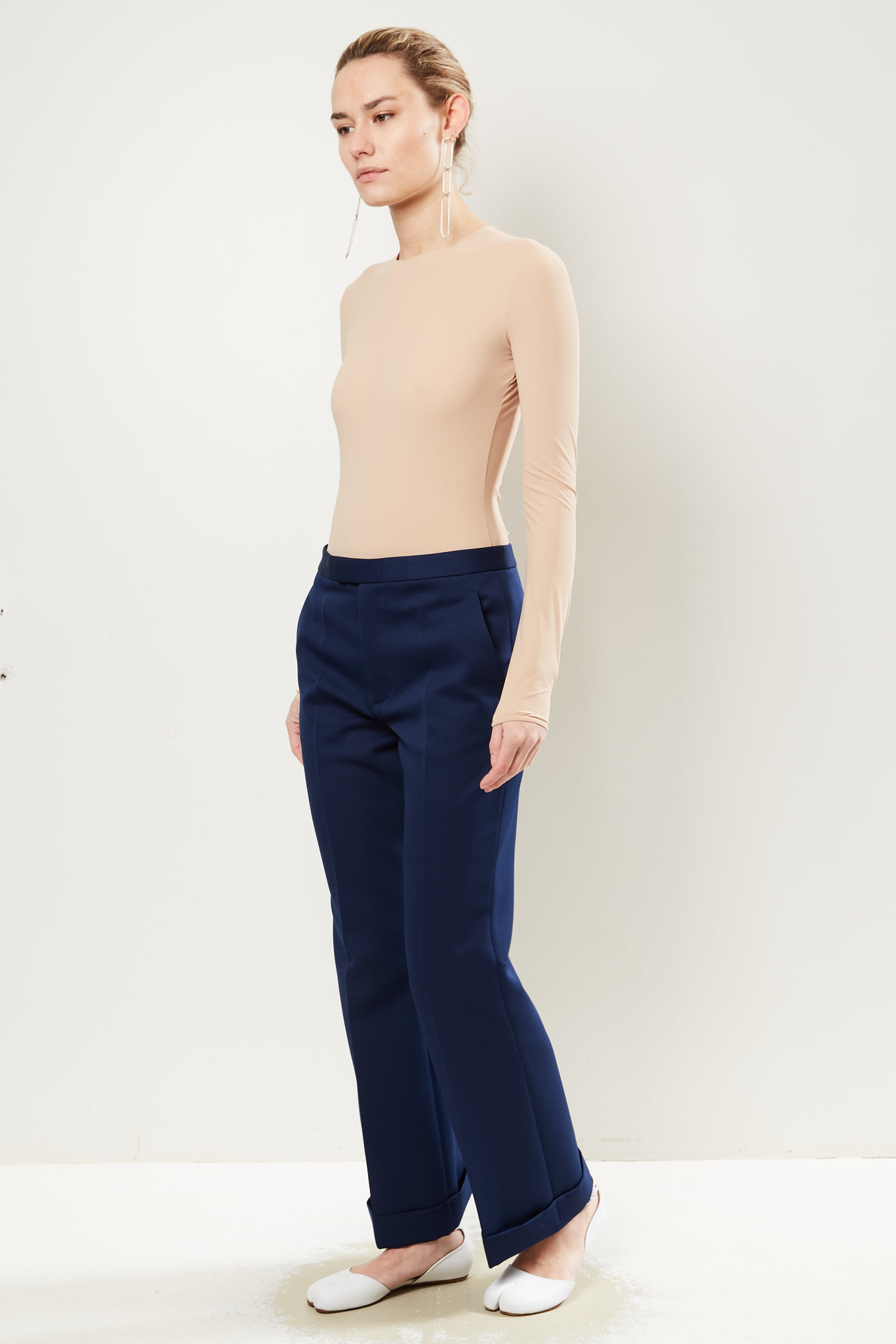 Maison Margiela - Cropped tailored trousers.