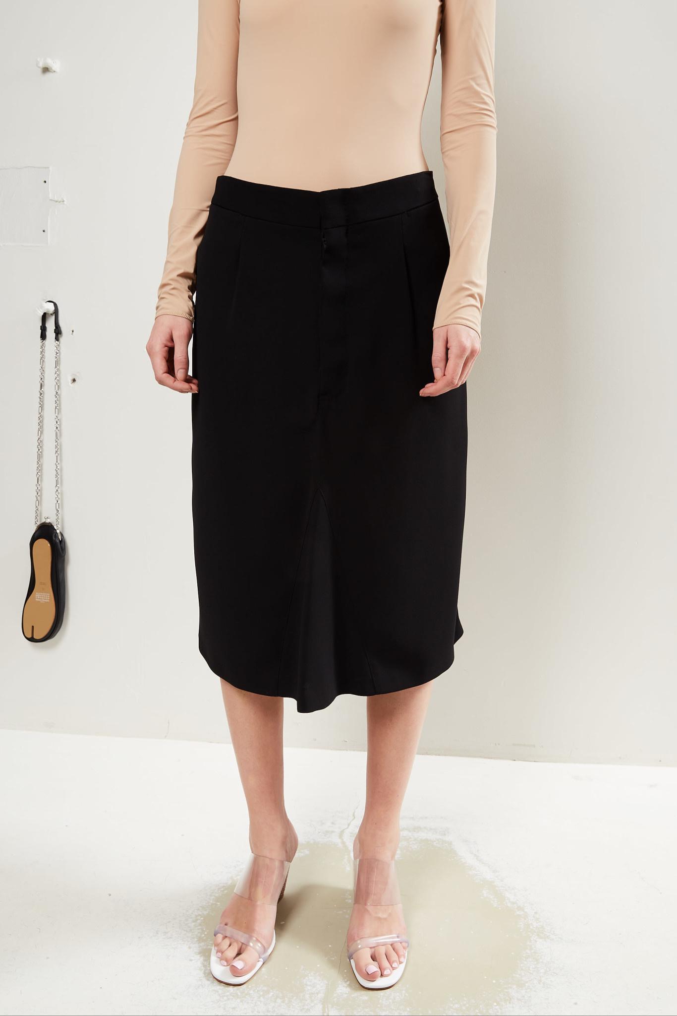 Maison Margiela - High waisted midi skirt.