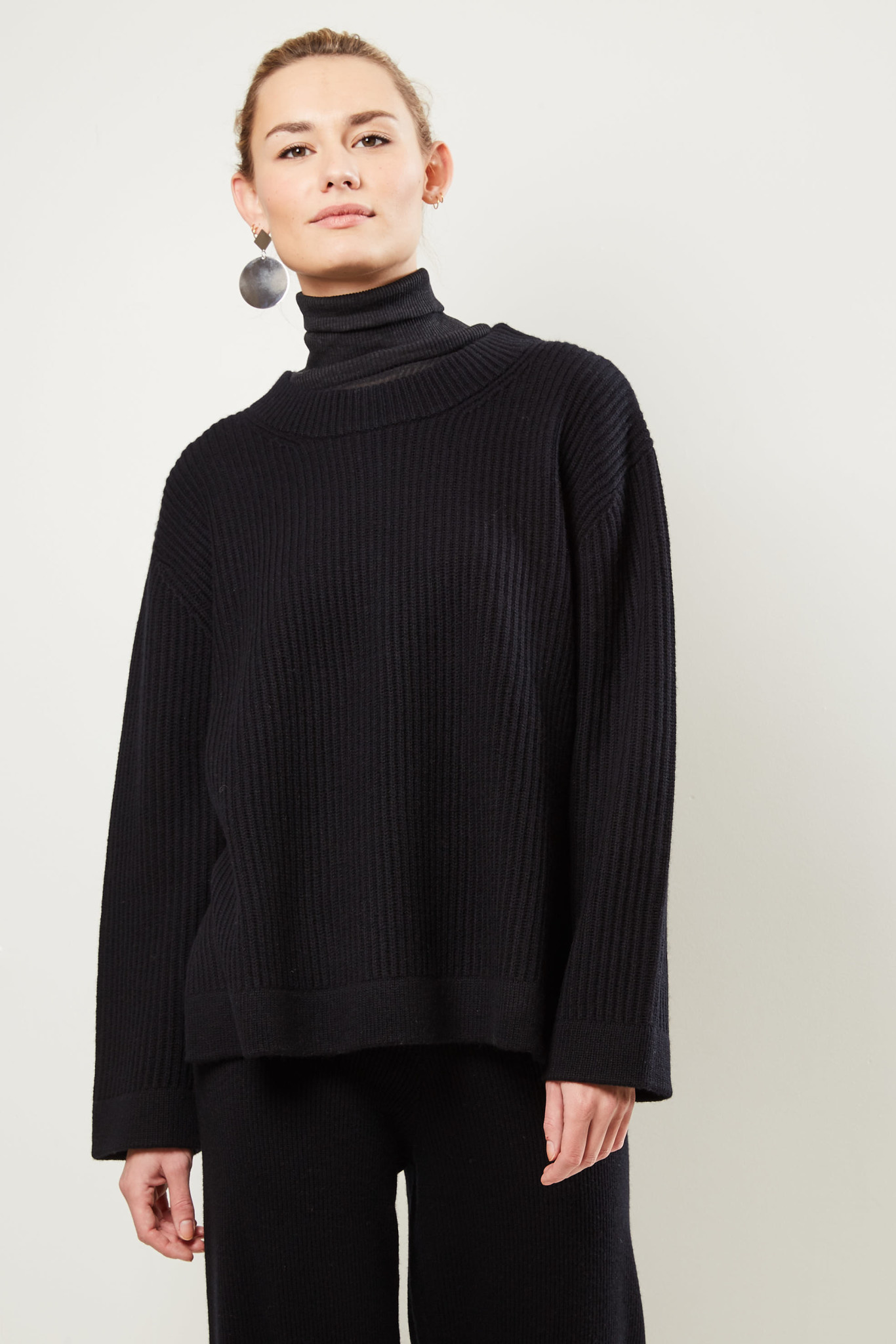 ÂME - Britney knitted top BL01