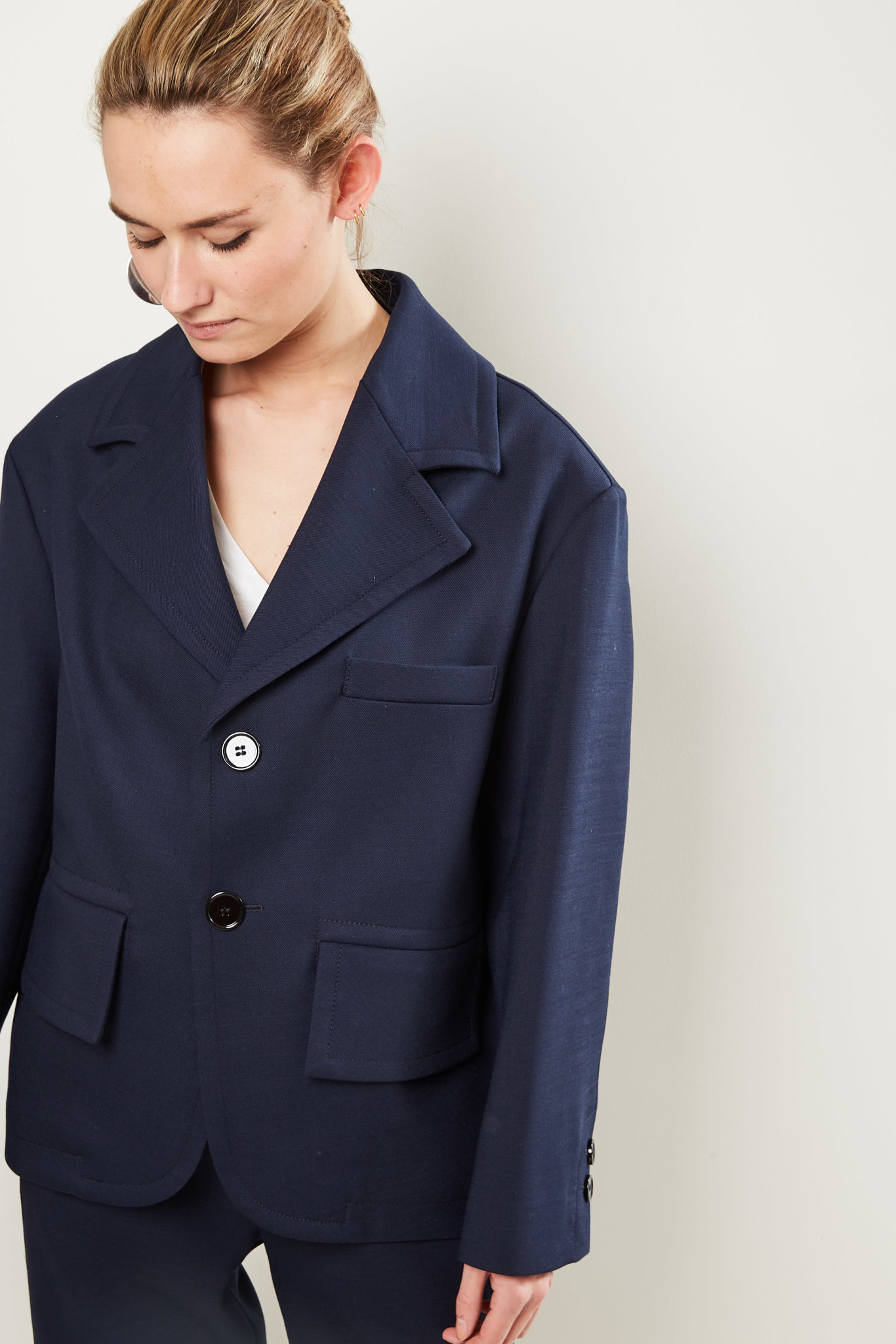 Maison Margiela Jacket 551 blue navy