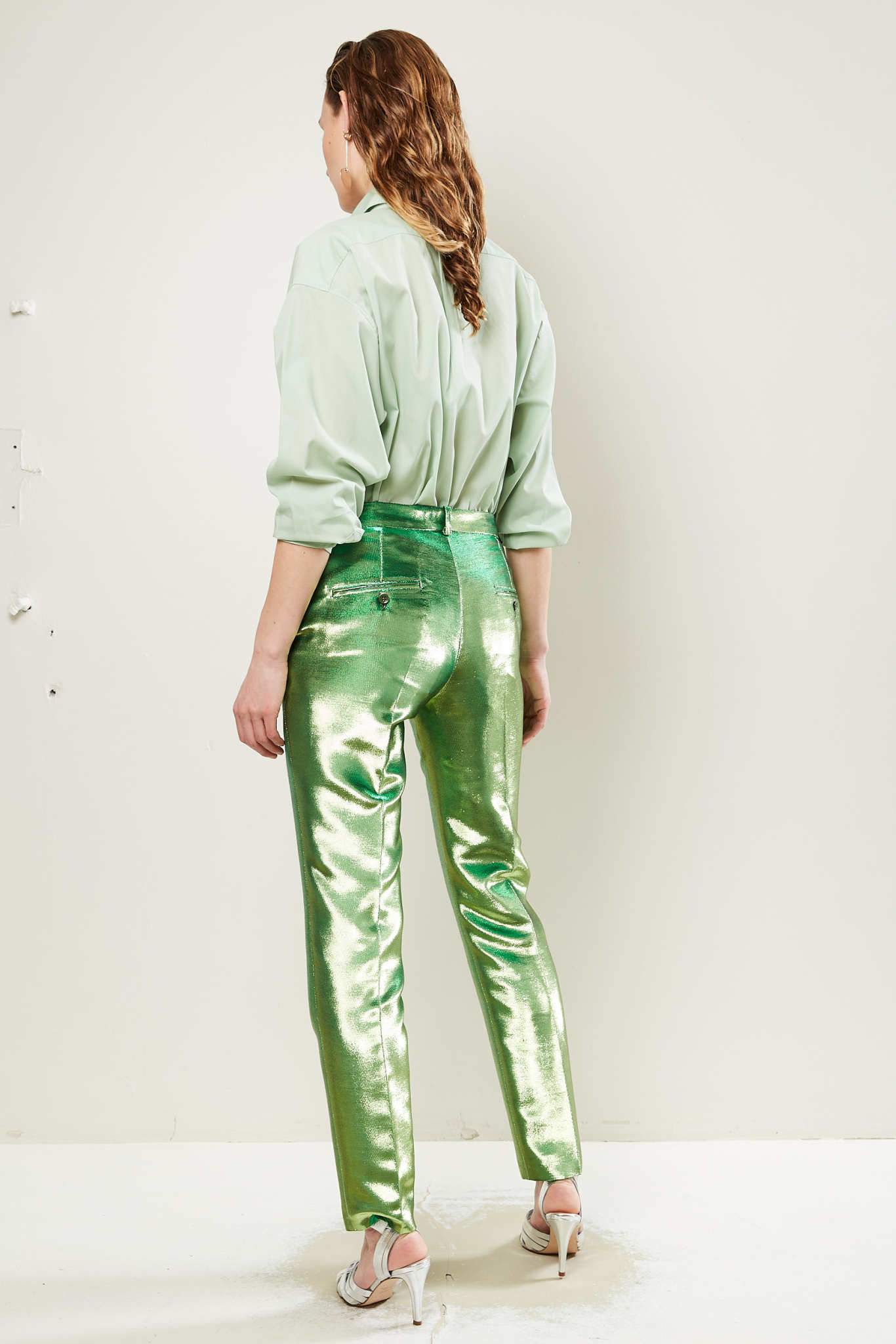 inDRESS - Lurex pants