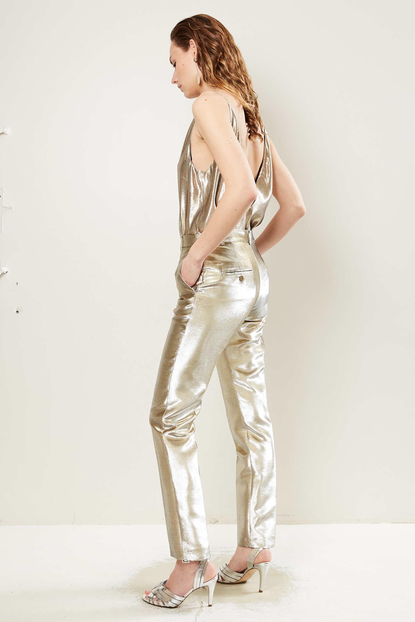 inDRESS - Lurex pants
