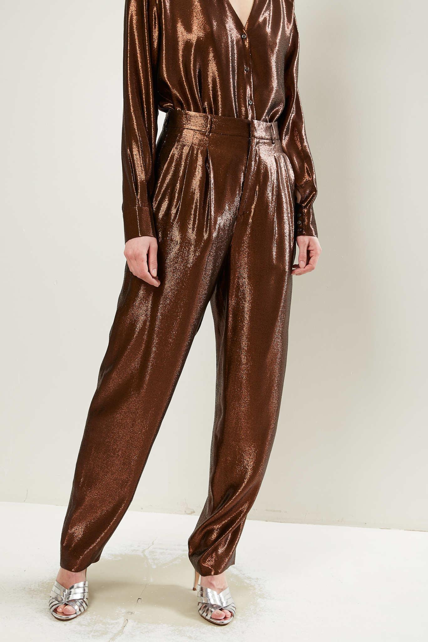 inDRESS Silk lurex large pants