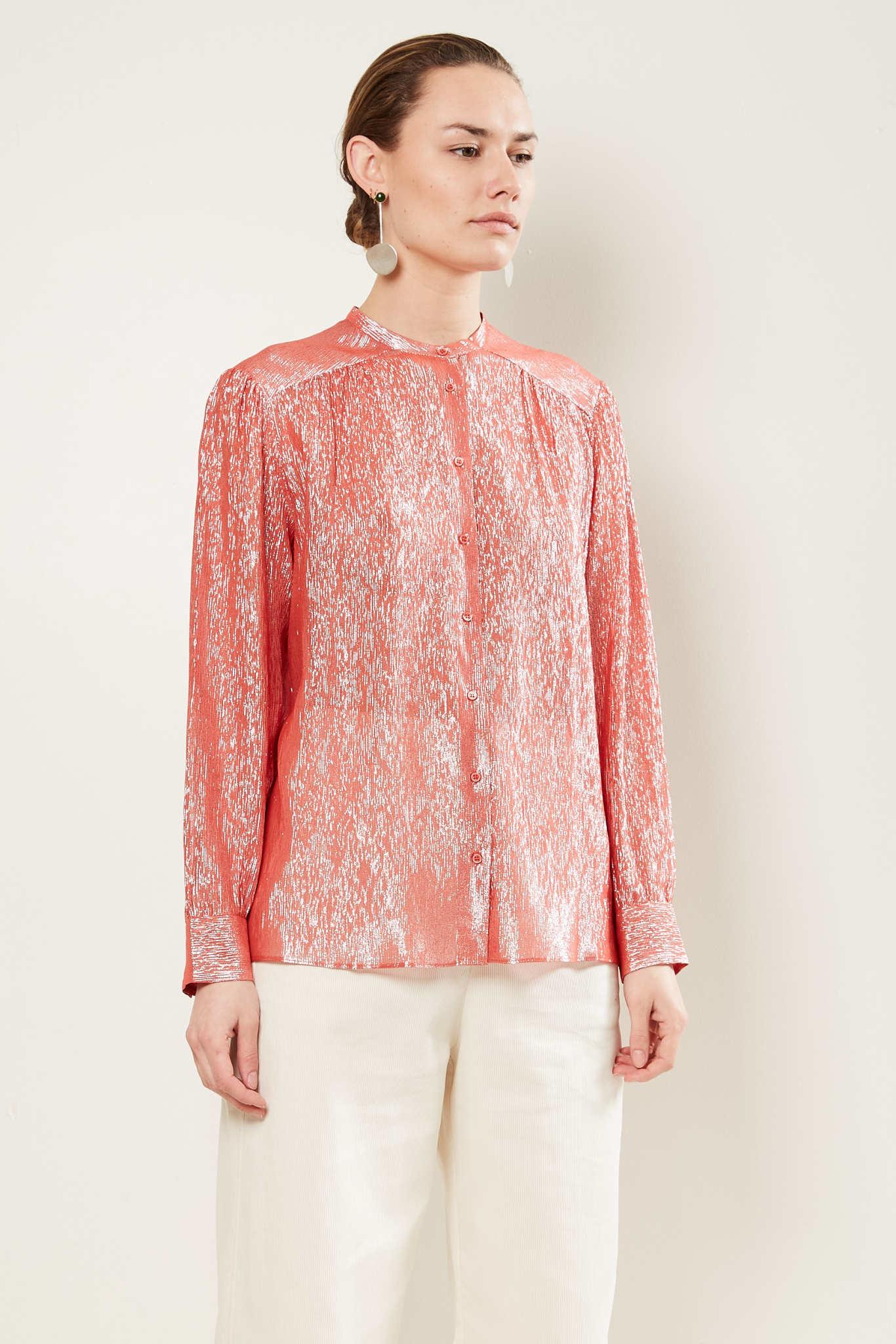 inDRESS - Sparkling lurex blouse